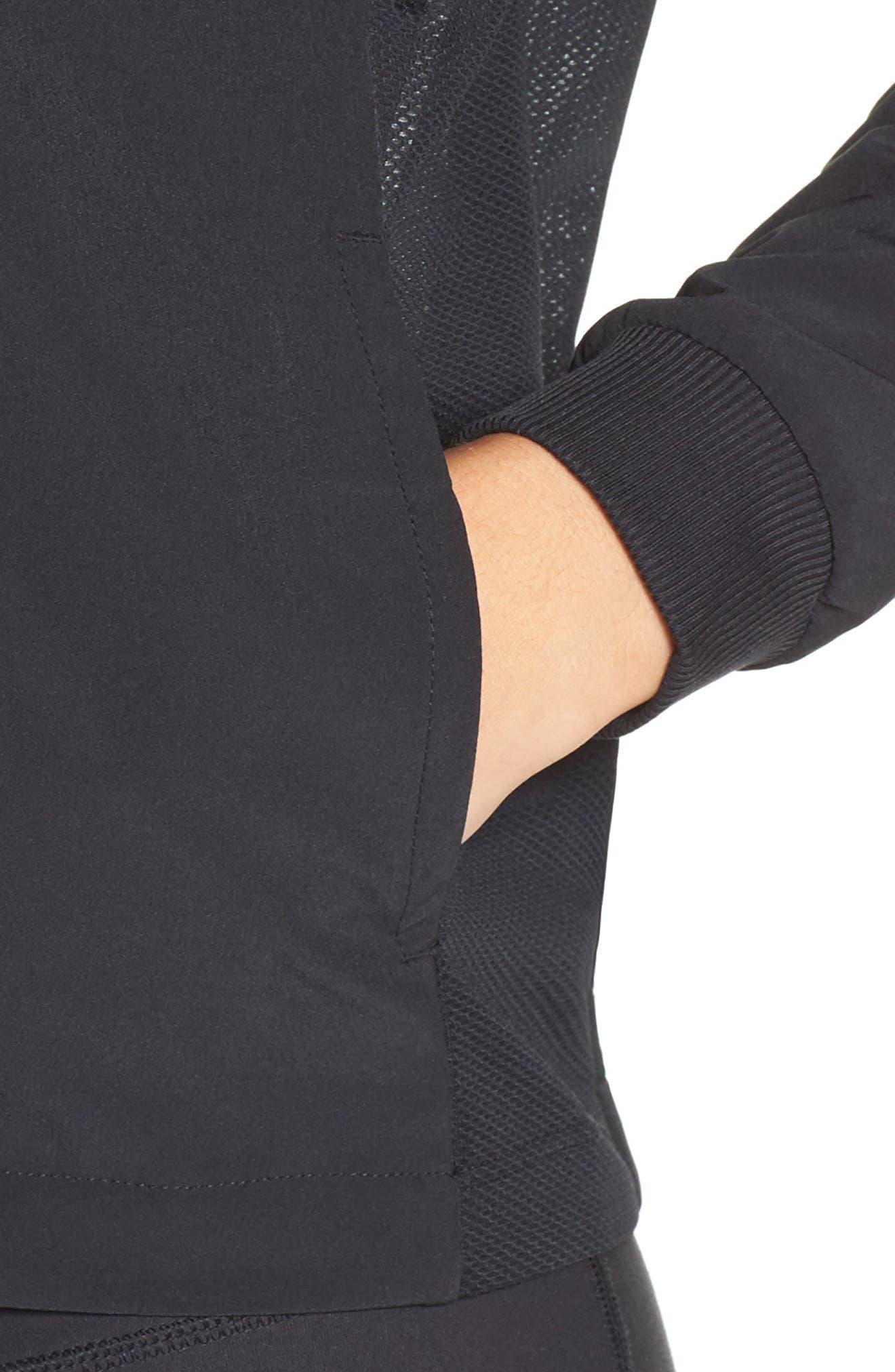 Flex Dri-FIT Training Jacket,                             Alternate thumbnail 4, color,                             010
