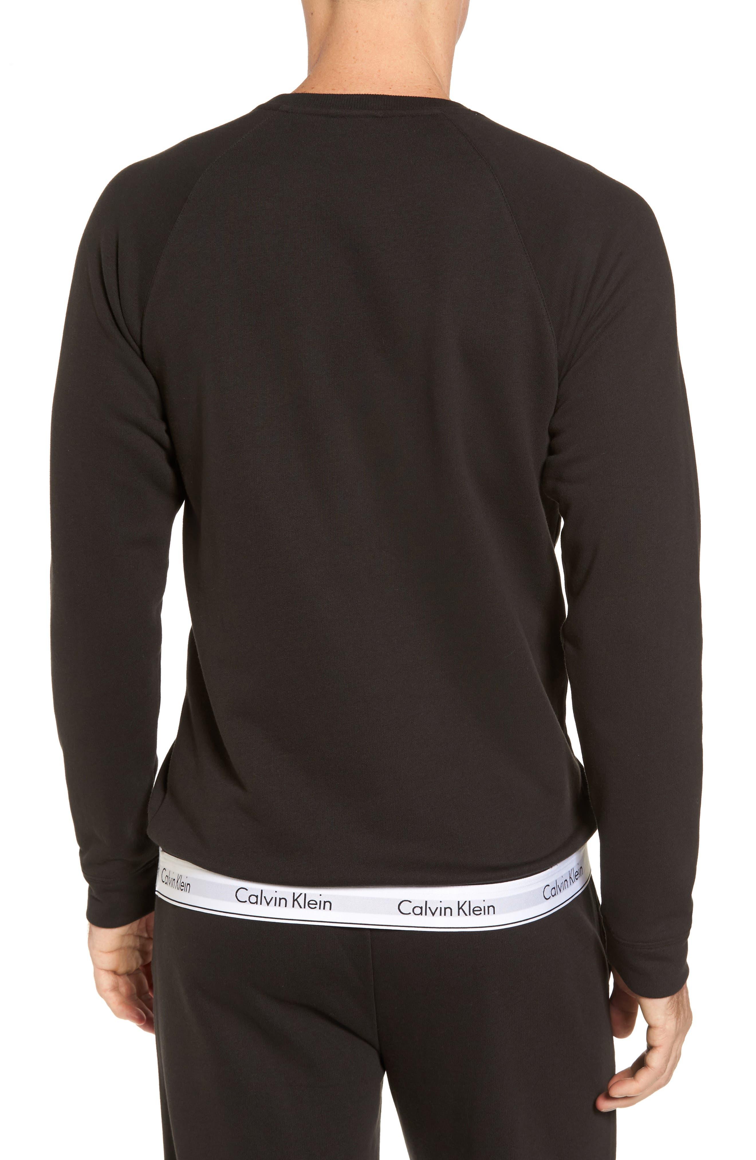Lounge Crewneck Sweatshirt,                             Alternate thumbnail 2, color,                             002