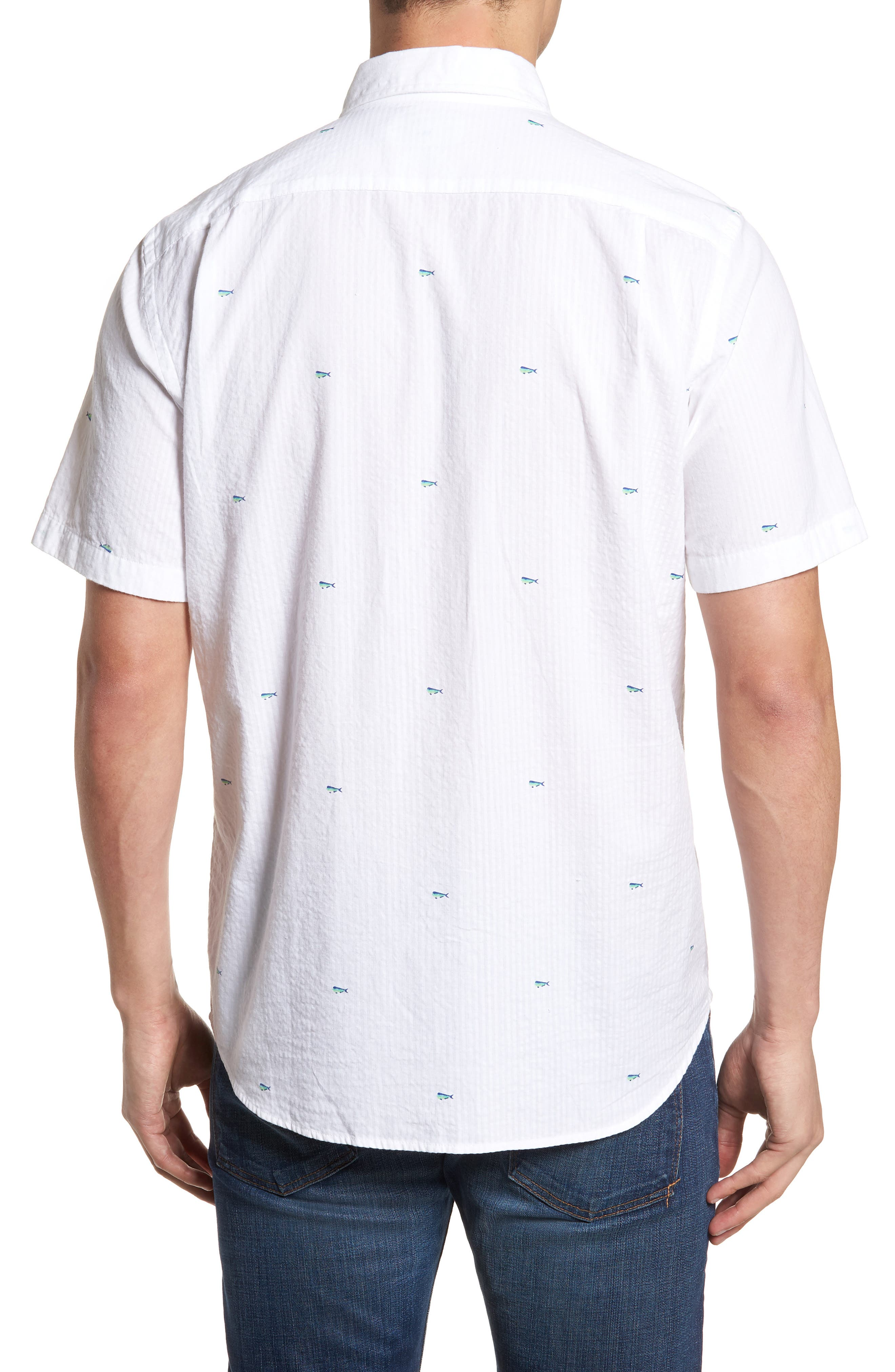 Catch of the Day Sport Shirt,                             Alternate thumbnail 2, color,                             107