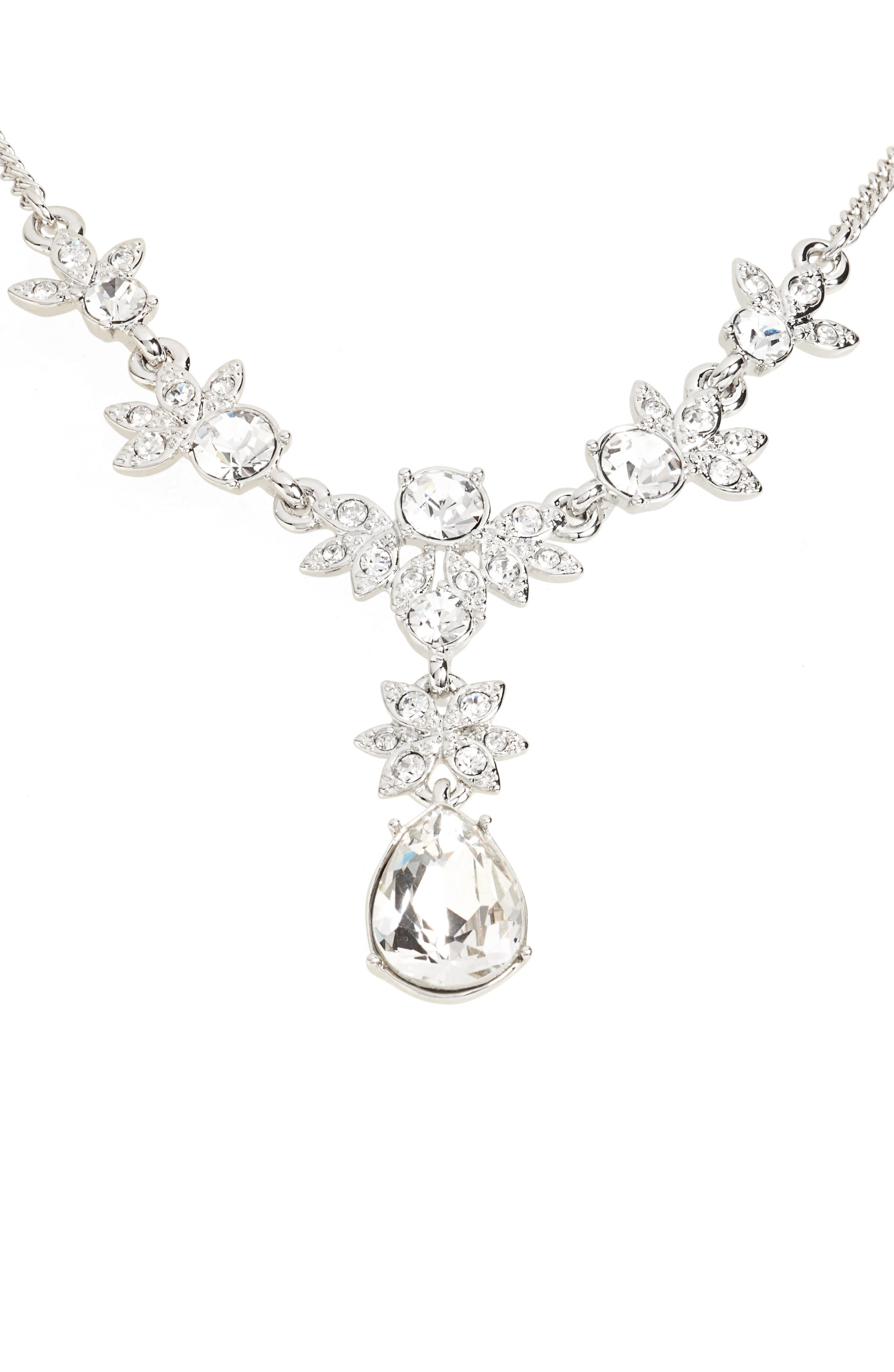 Crystal Y-Necklace,                             Main thumbnail 1, color,