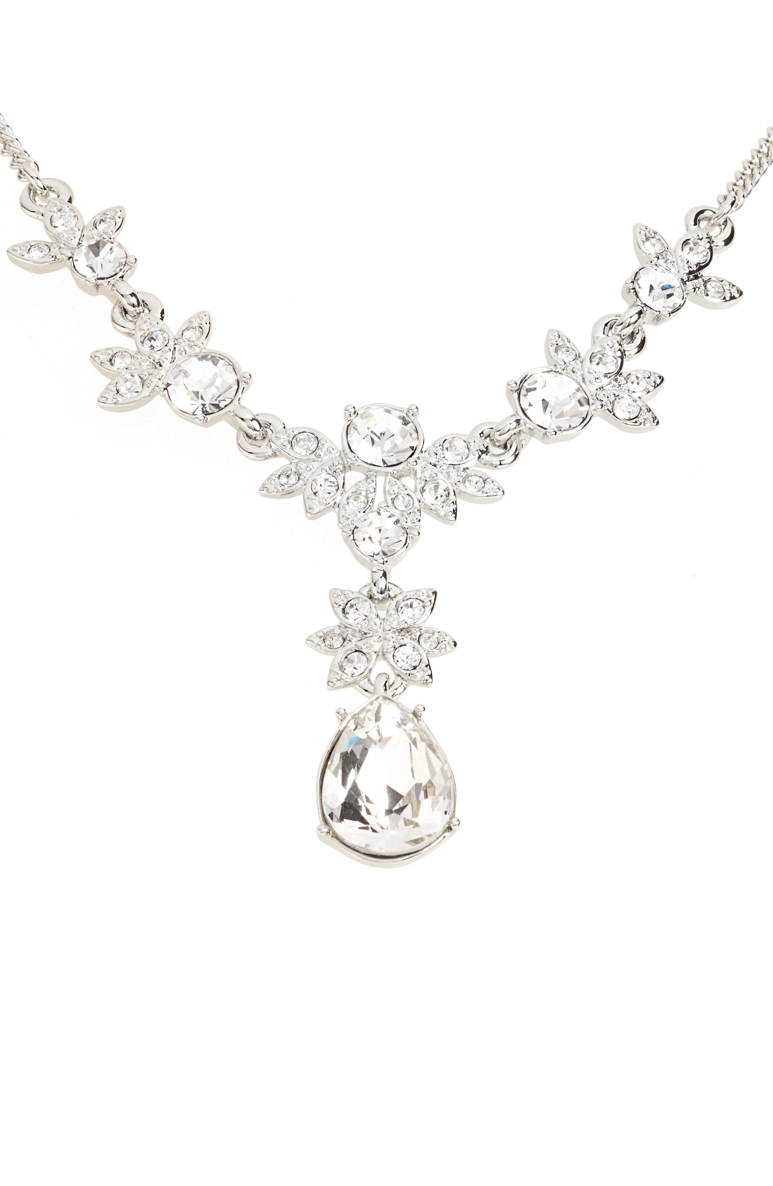 Crystal Y-Necklace,                         Main,                         color,