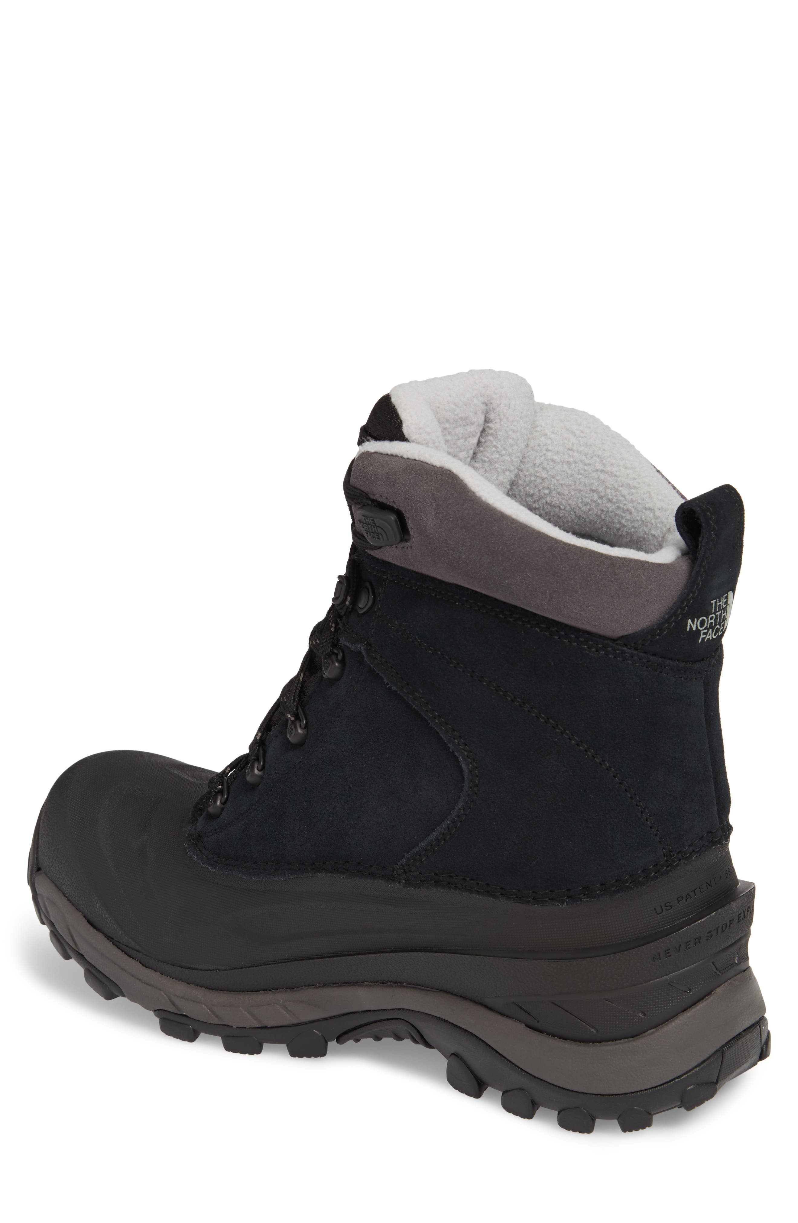 Chilkat III Waterproof Insulated Boot,                             Alternate thumbnail 2, color,                             TNF BLACK