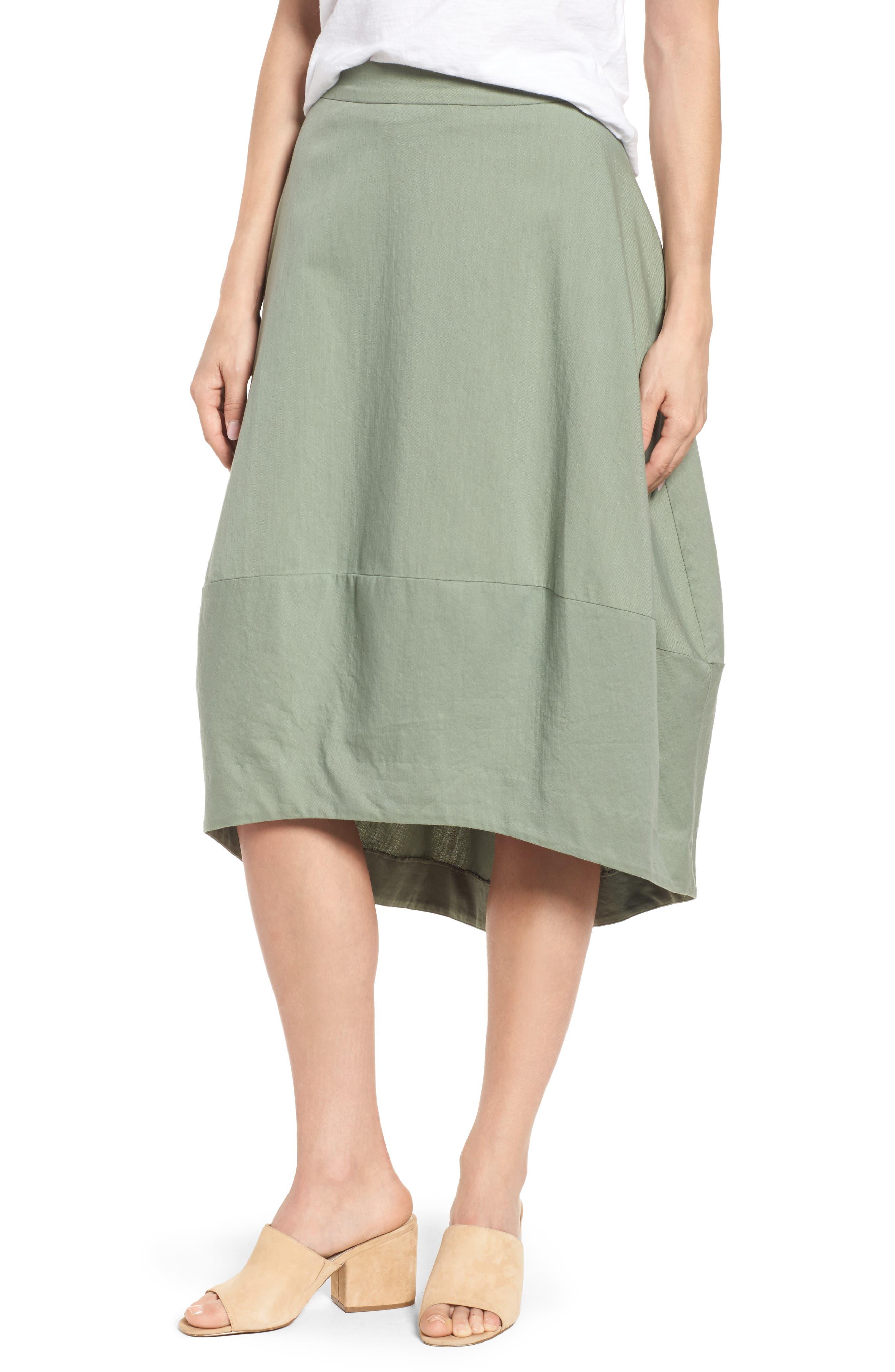 Organic Cotton Lantern Skirt,                             Main thumbnail 2, color,
