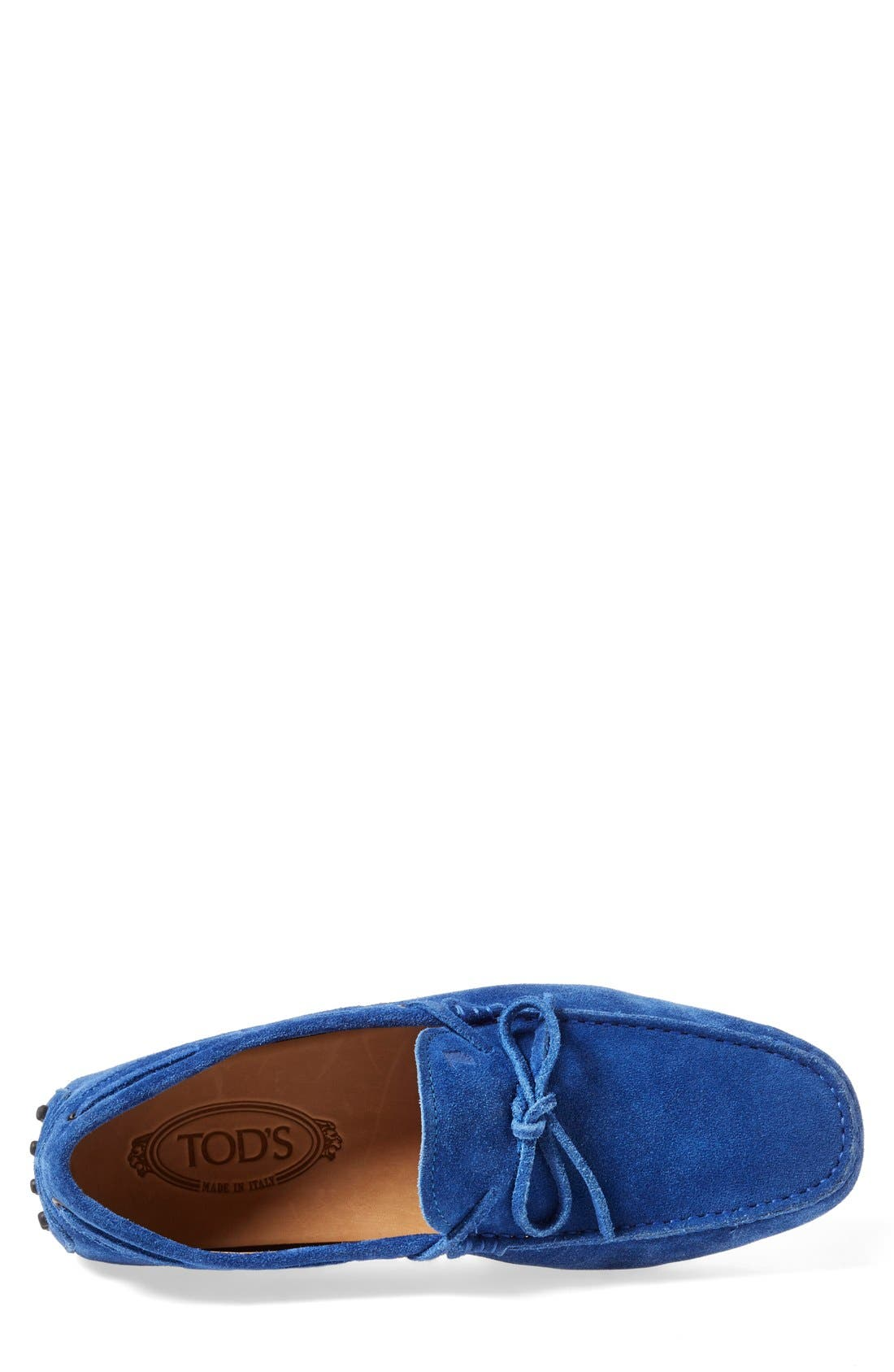 Gommini Tie Front Driving Moccasin,                             Alternate thumbnail 58, color,
