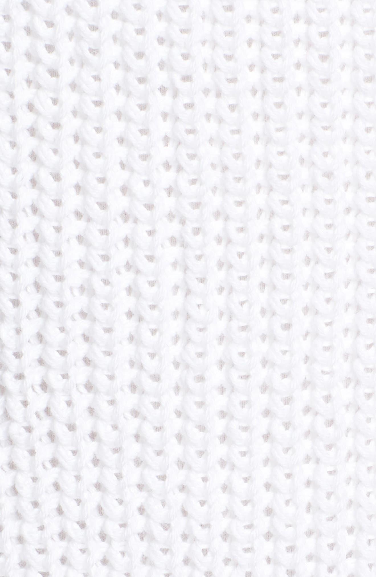 Shaker Stitch Cotton Sweater,                             Alternate thumbnail 10, color,
