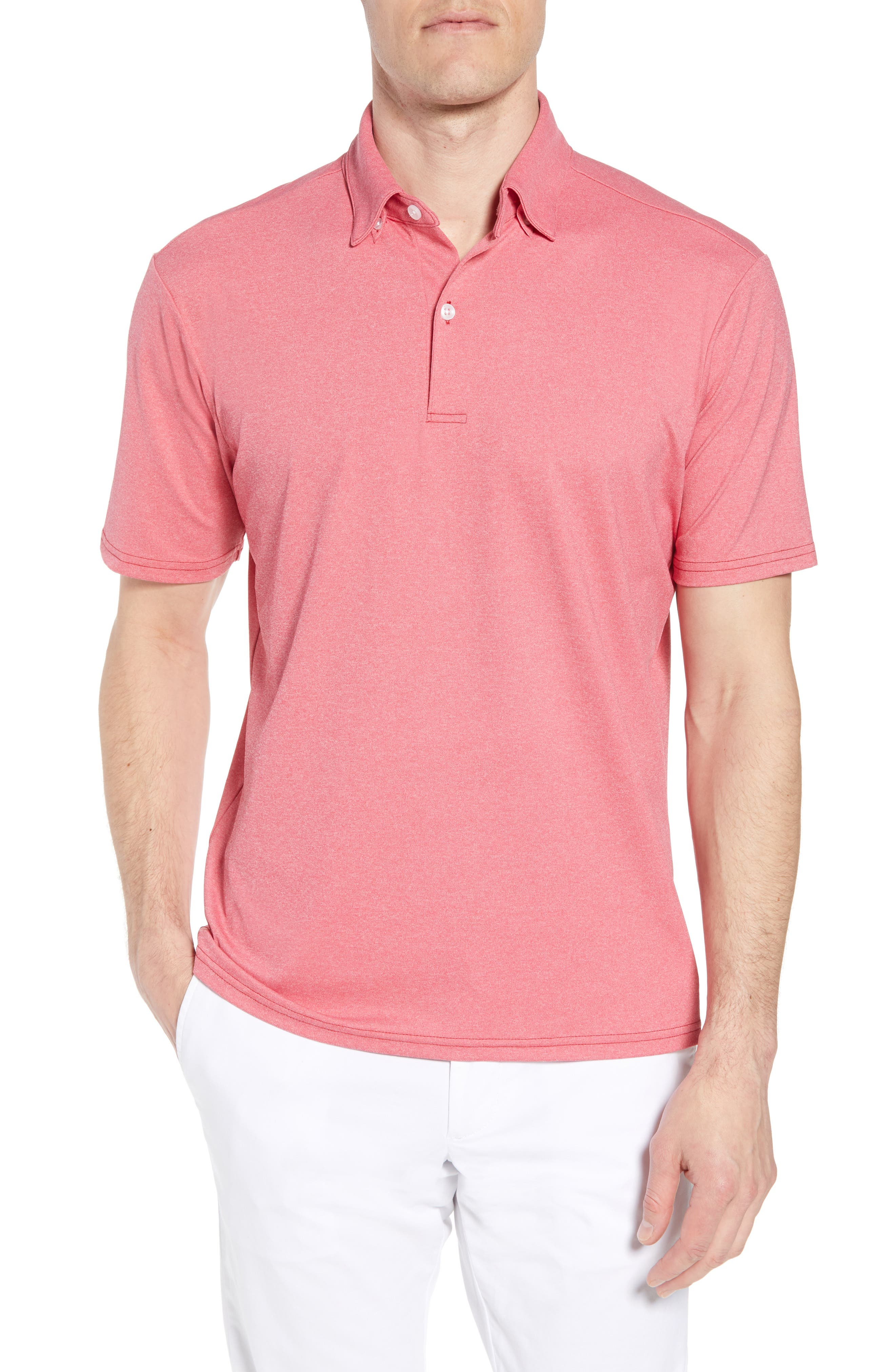 Slim Fit Active Polo,                         Main,                         color, 630
