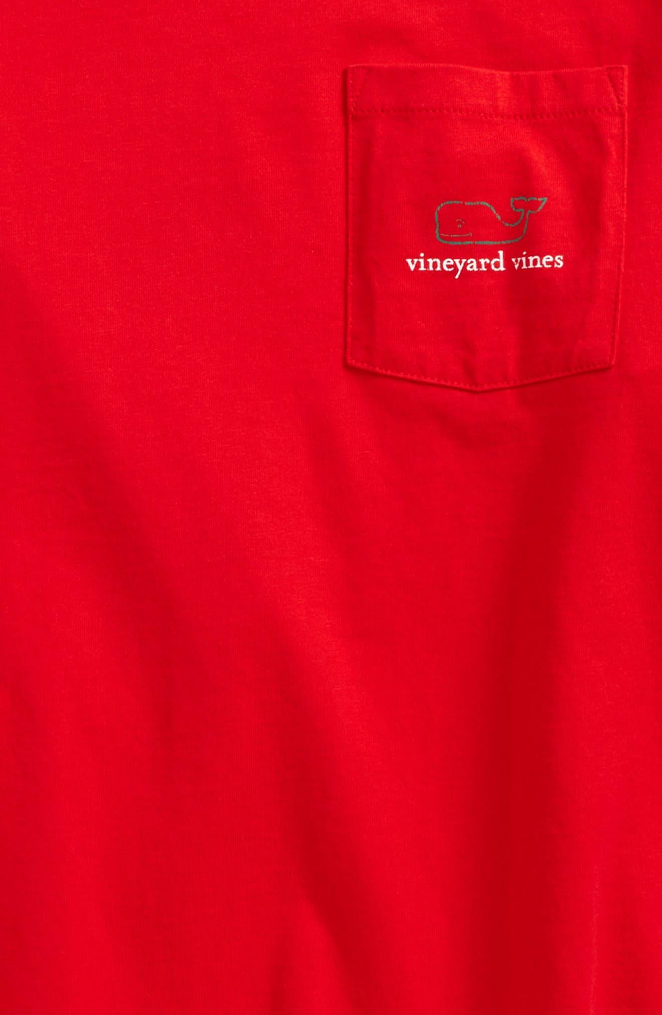 Vintage Whale Long Sleeve Pocket T-Shirt,                             Alternate thumbnail 17, color,