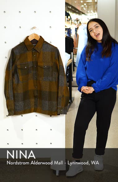 Mackinaw Plaid Wool Flannel Shirt Jacket, sales video thumbnail