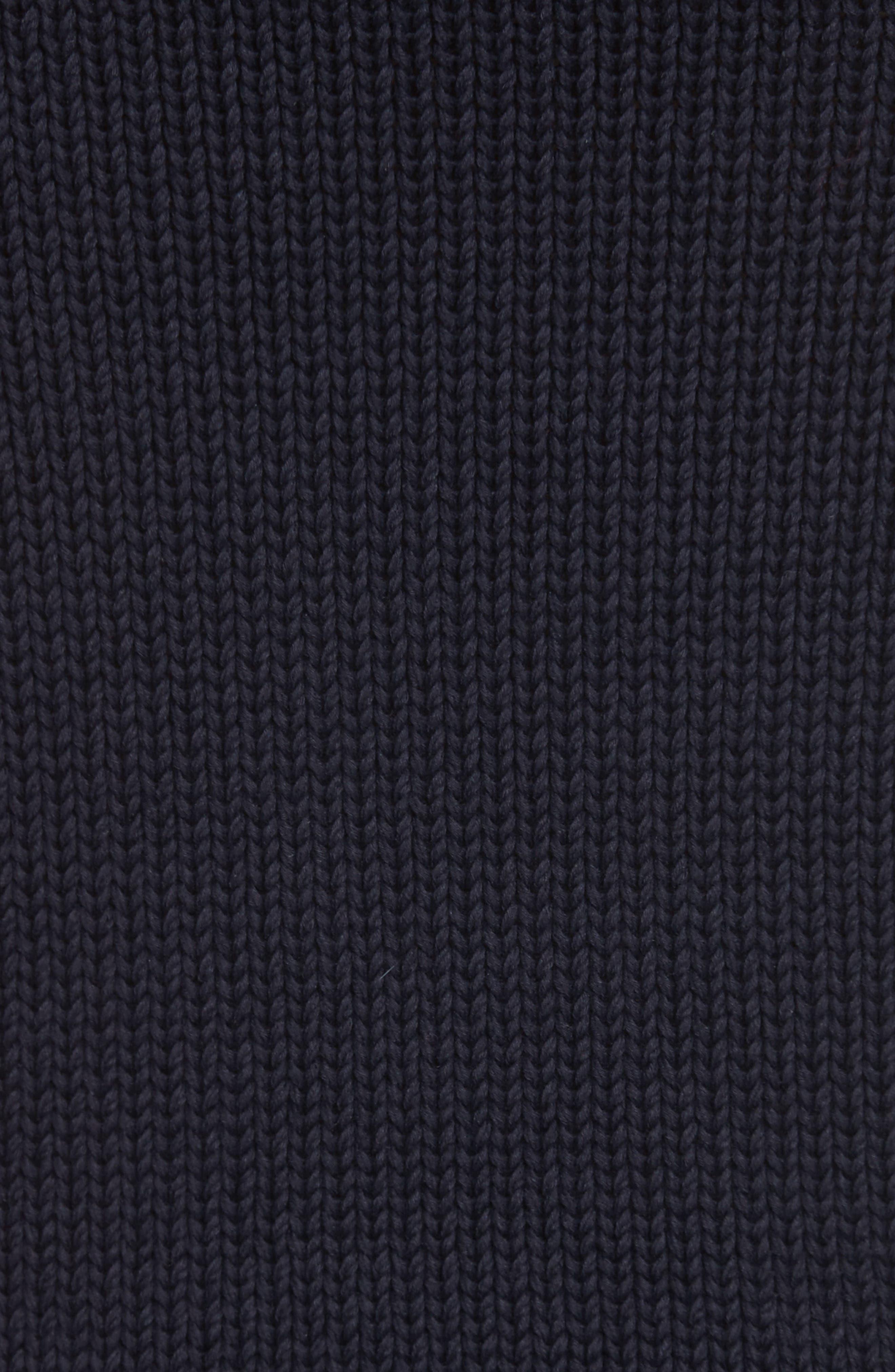 Varsity Upside Down Sweater,                             Alternate thumbnail 5, color,                             005