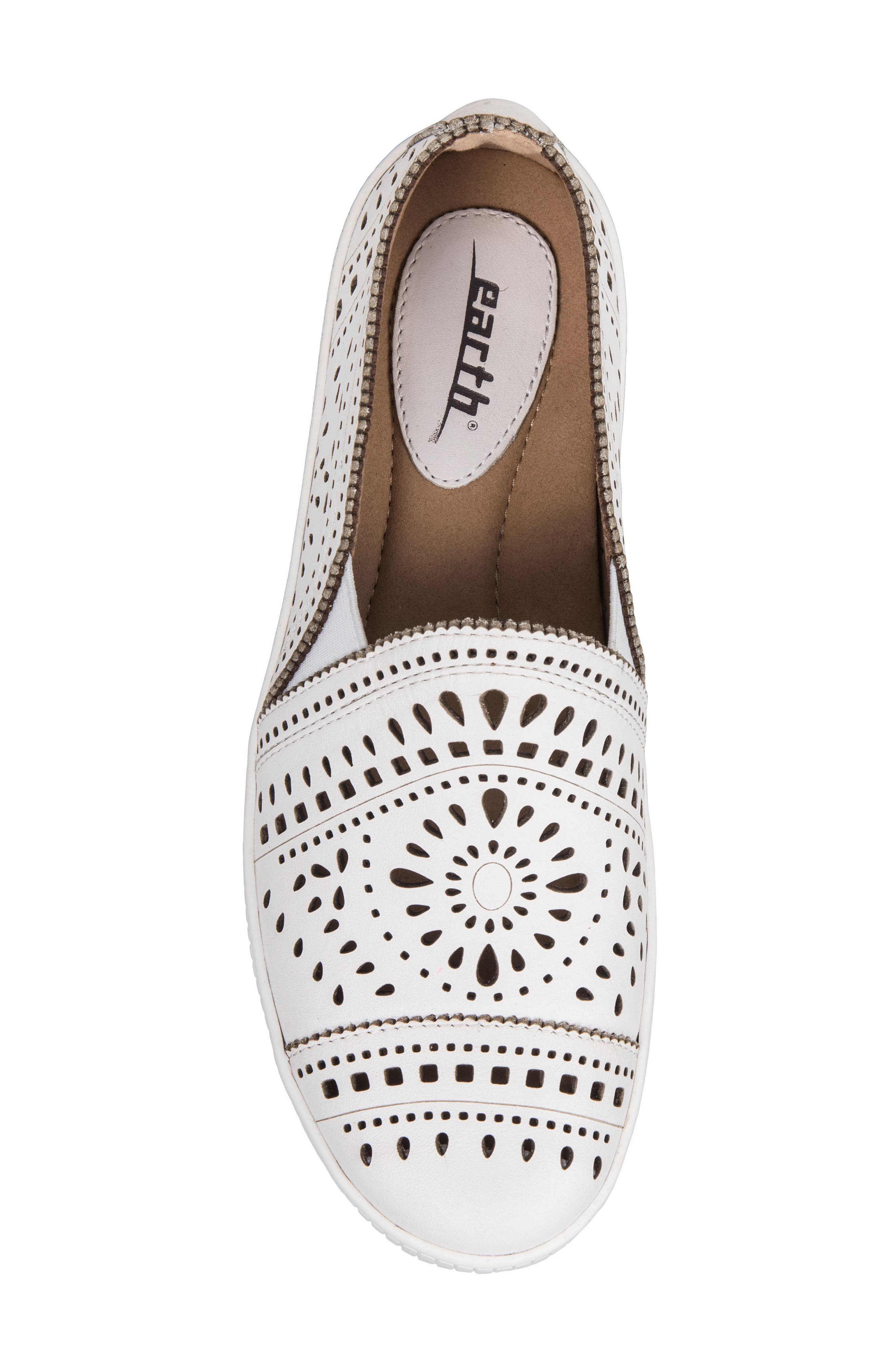 Tayberry Perforated Slip-On Sneaker,                             Alternate thumbnail 18, color,