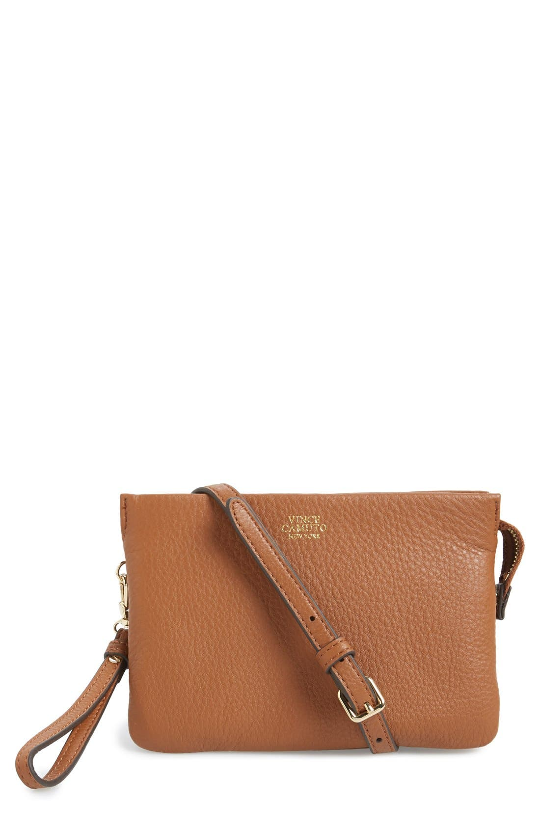 'Cami' Leather Crossbody Bag,                             Main thumbnail 12, color,