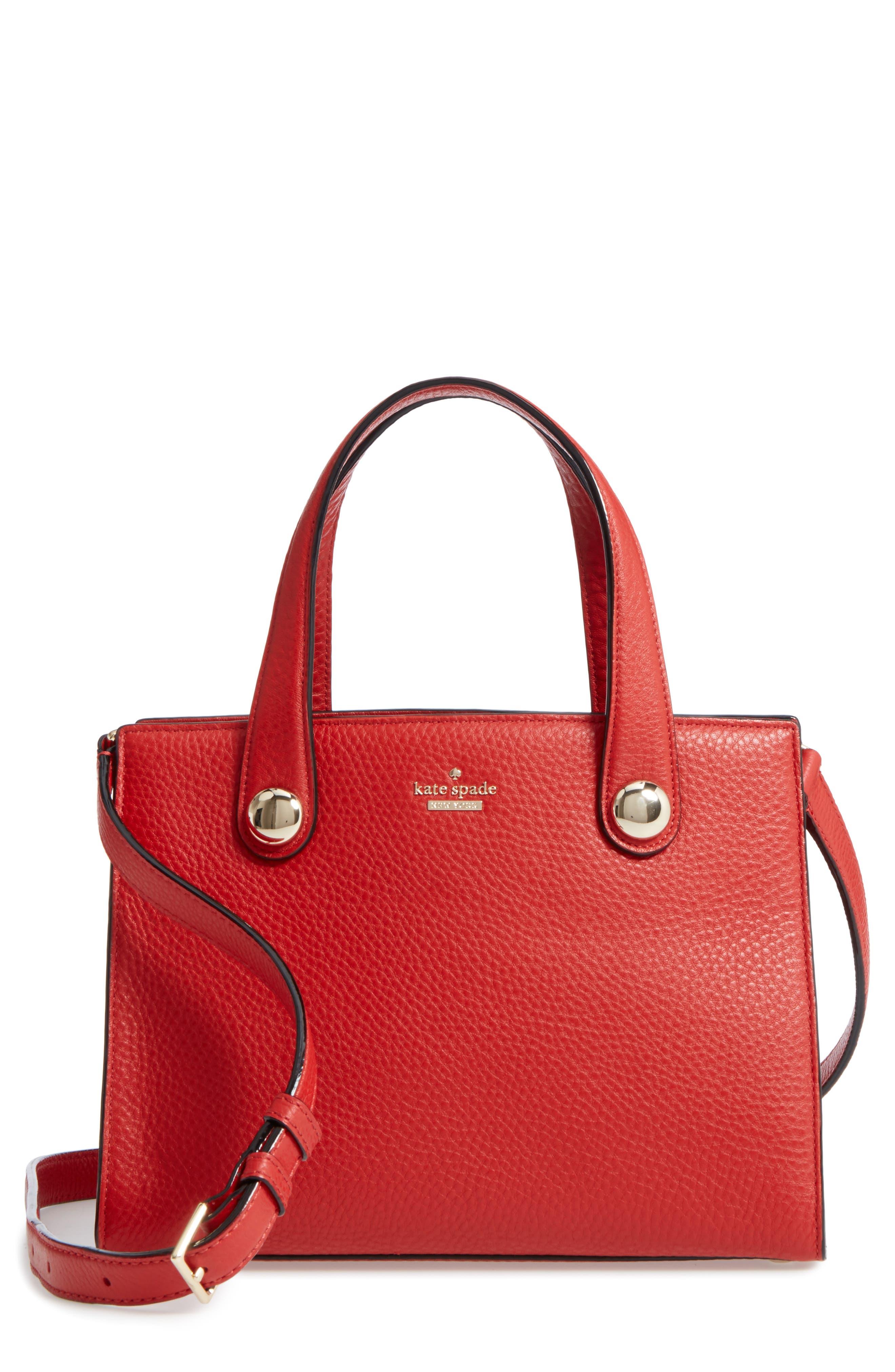 stewart street - little joy leather satchel,                             Main thumbnail 1, color,                             631