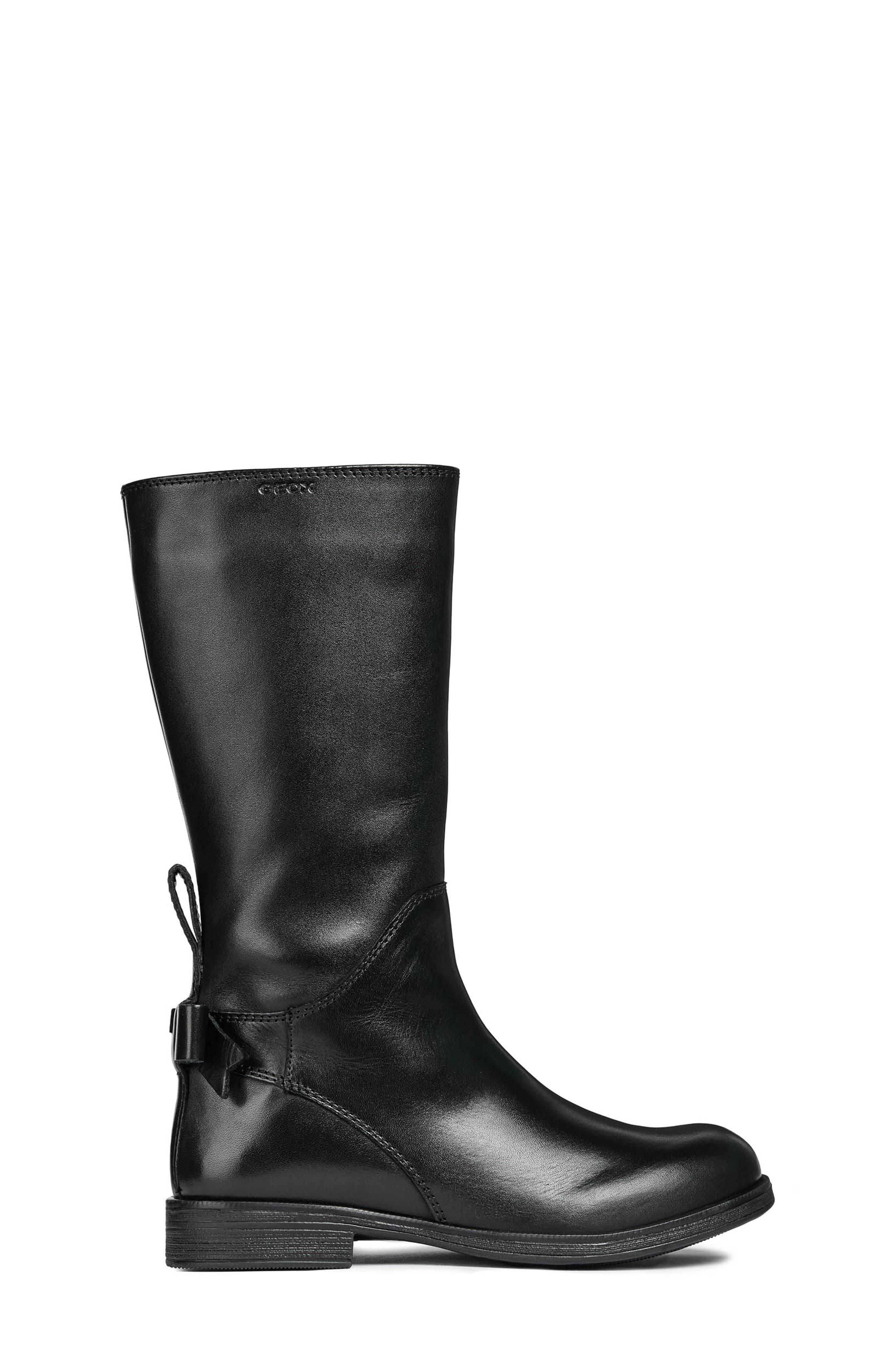 Jr Agata Boot,                             Alternate thumbnail 8, color,                             BLACK