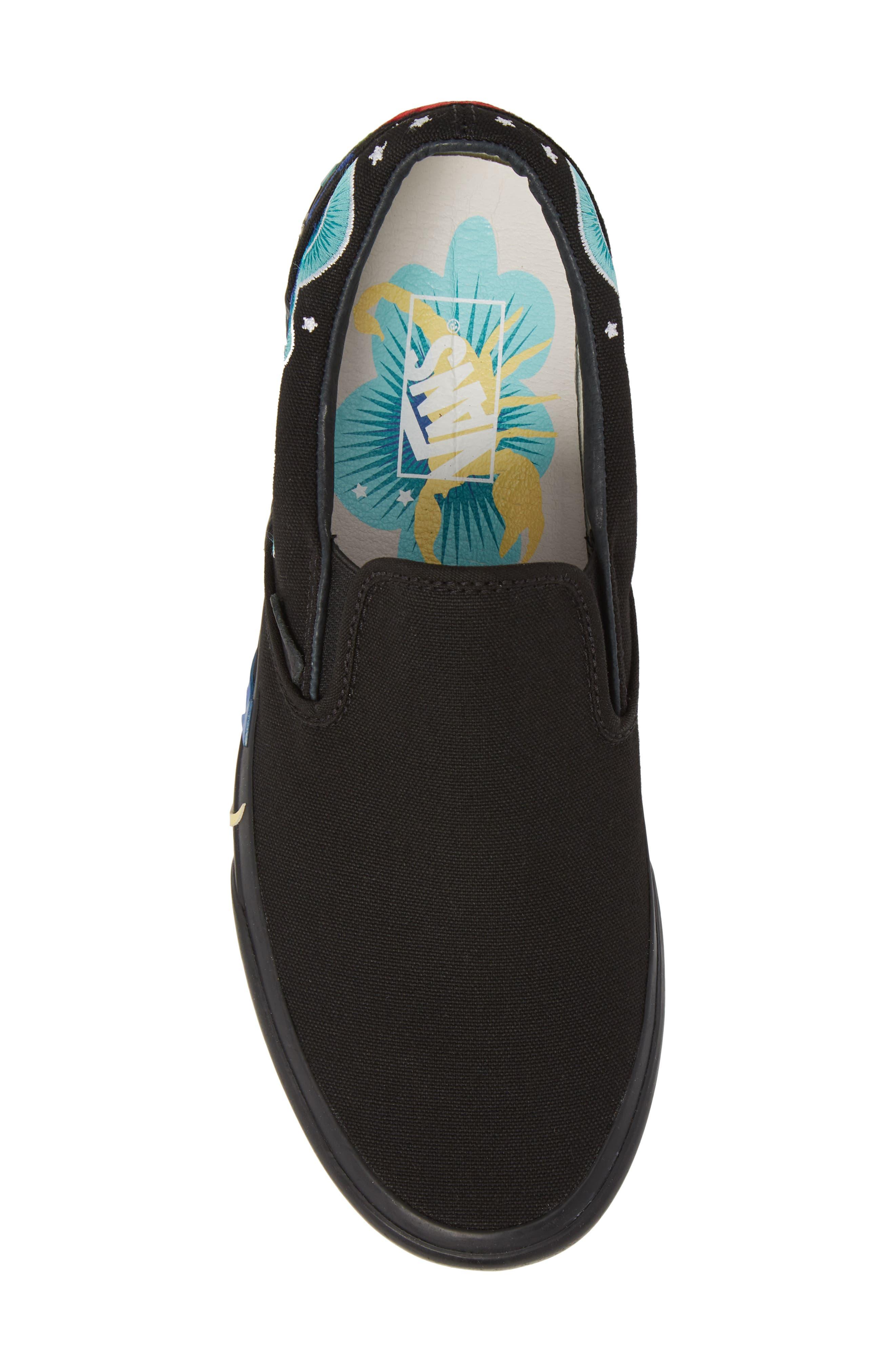 Desert Embellish Classic Slip-On Sneaker,                             Alternate thumbnail 5, color,