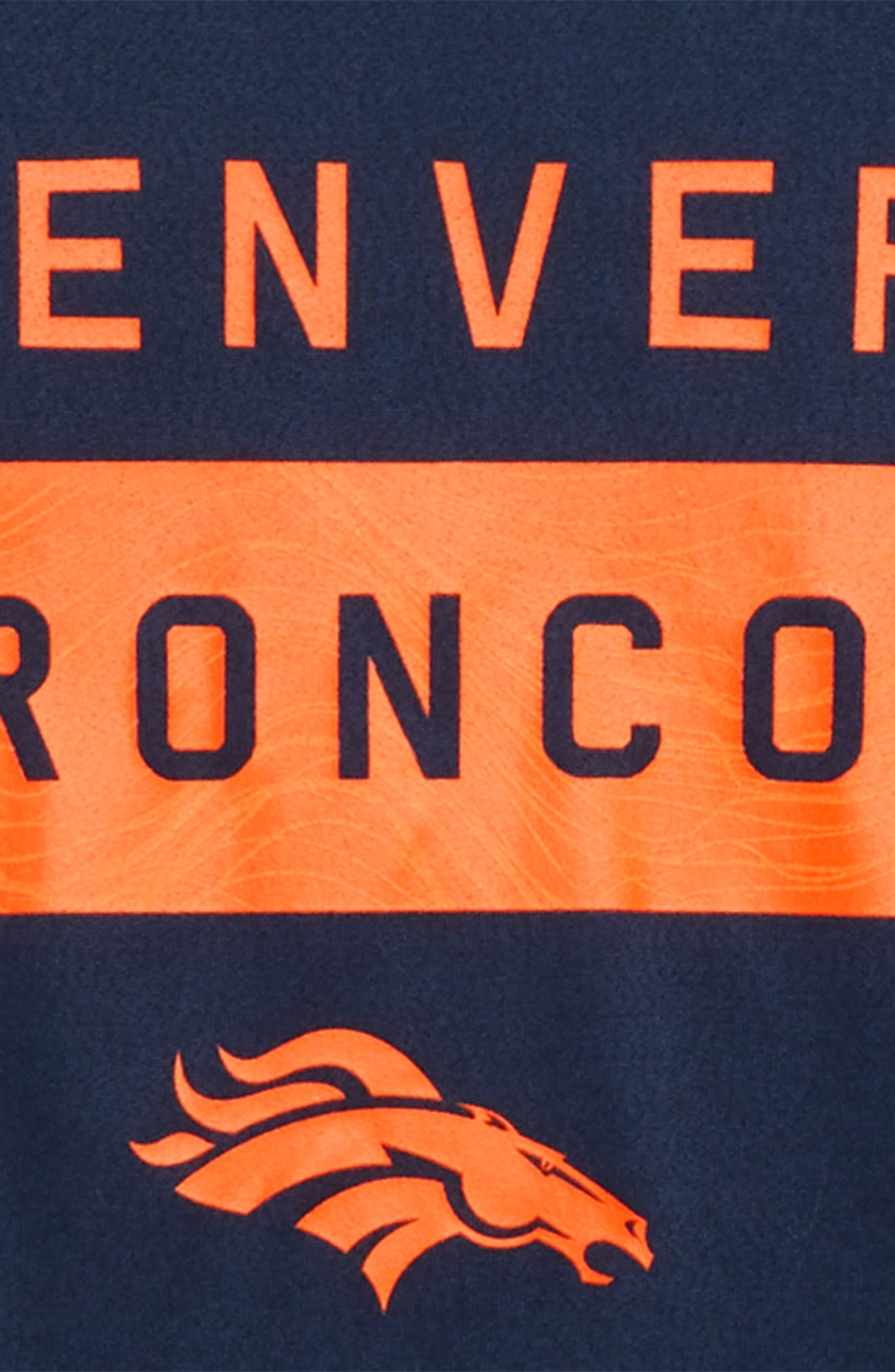 NFL Denver Broncos Dry Legend Lift T-Shirt,                             Alternate thumbnail 2, color,                             ORANGE