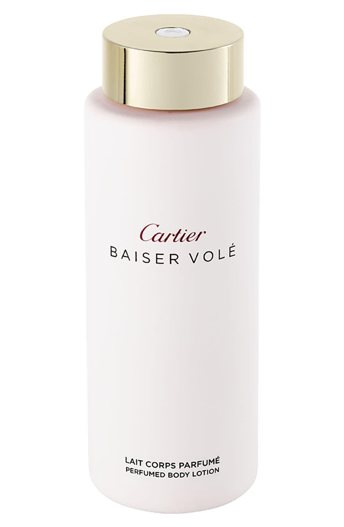 Cartier 'Baiser Volé' Perfumed Body Lotion,                             Main thumbnail 1, color,                             NO COLOR