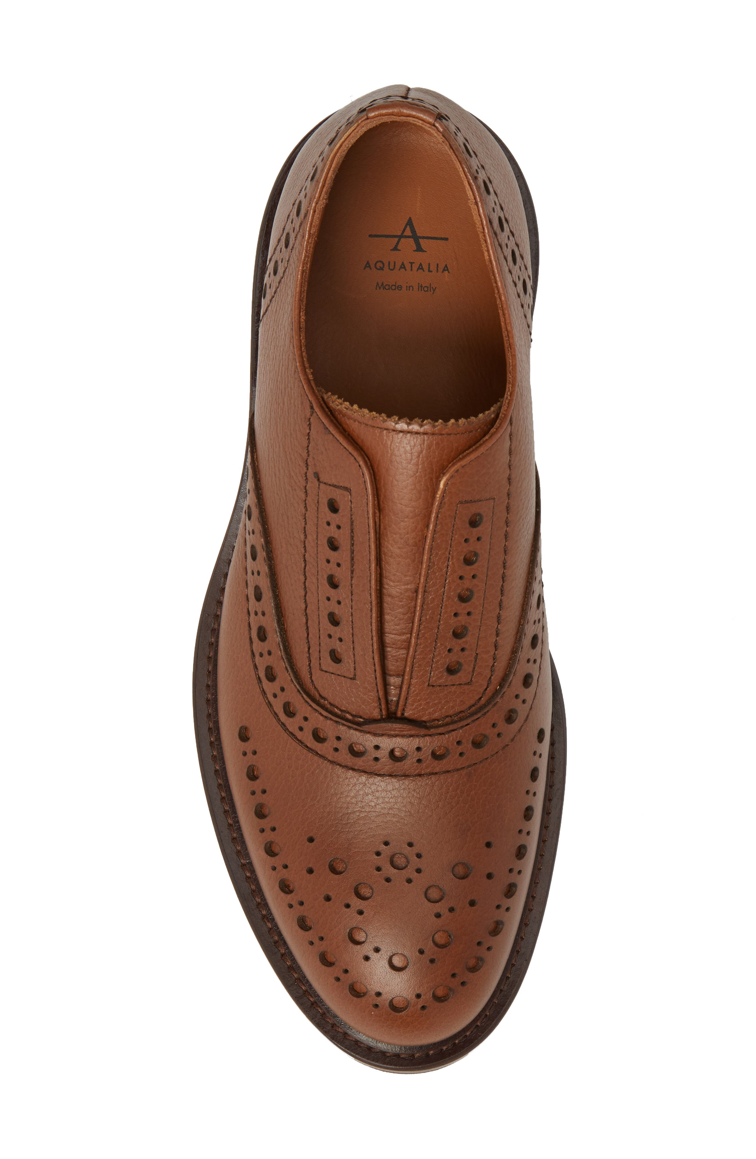 Romeo Weatherproof Laceless Oxford,                             Alternate thumbnail 5, color,                             NUT
