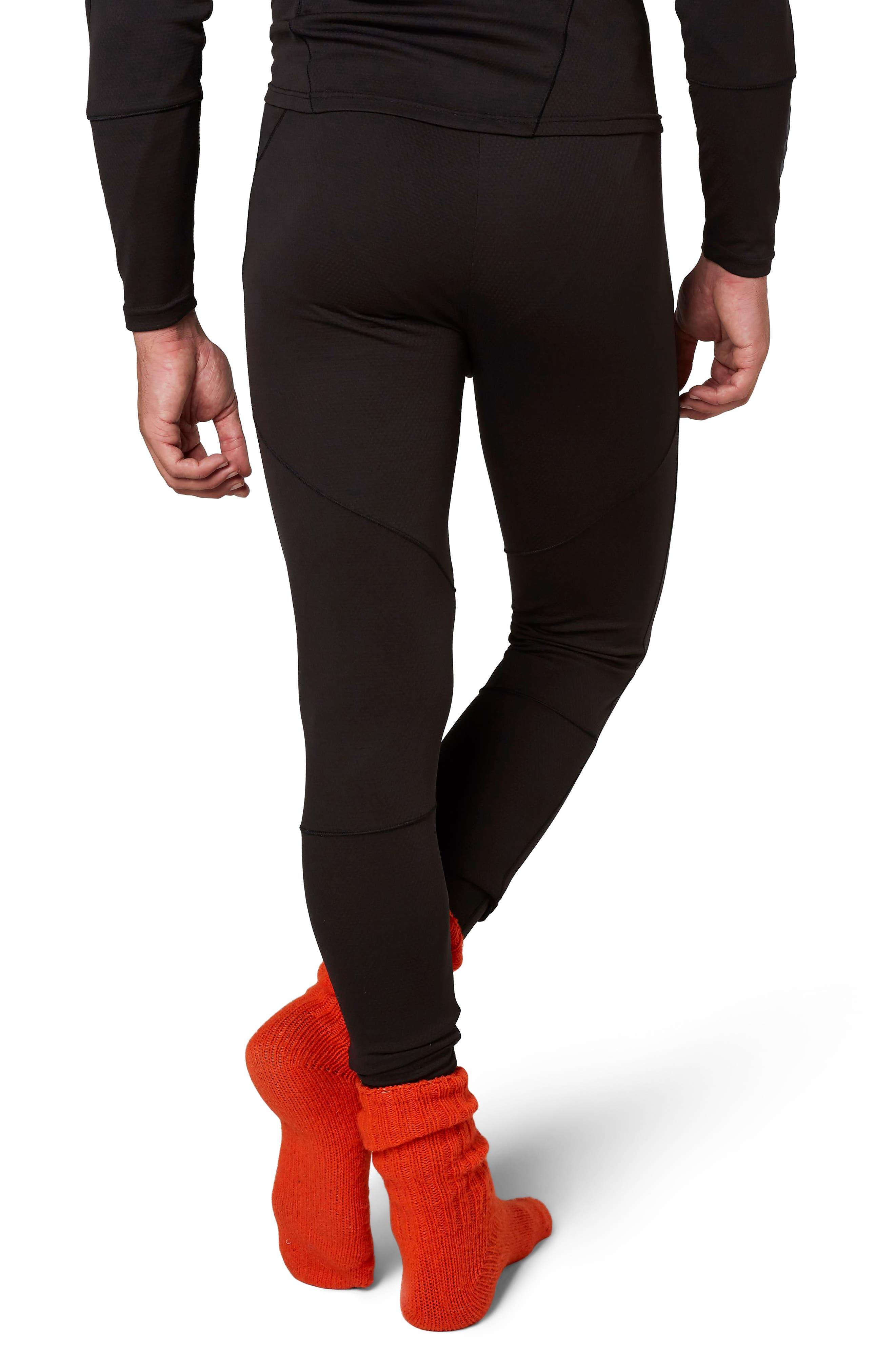 Lifa<sup>®</sup> Mid Base Layer Leggings,                             Alternate thumbnail 2, color,                             BLACK