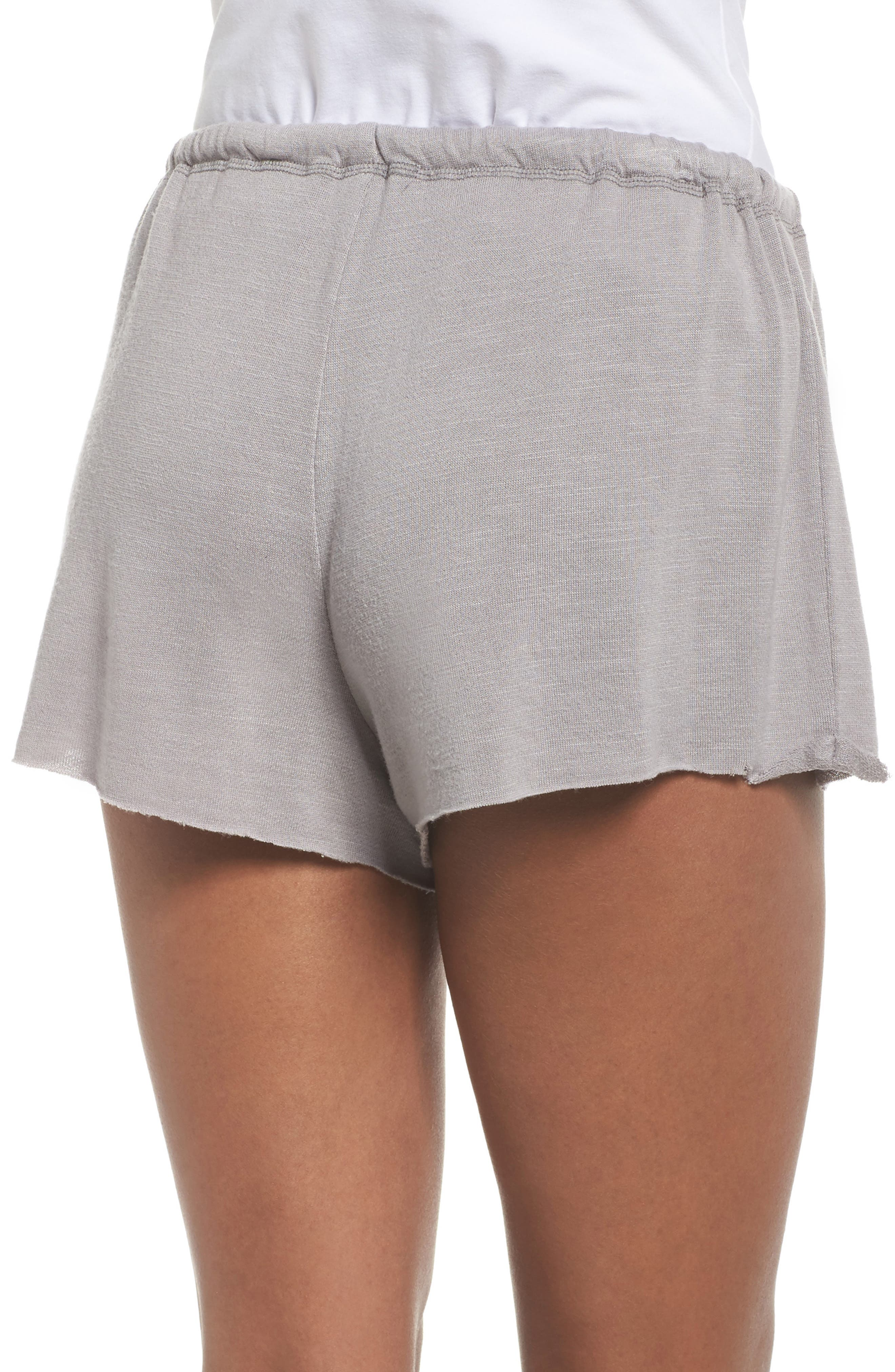French Terry Lounge Shorts,                             Alternate thumbnail 3, color,