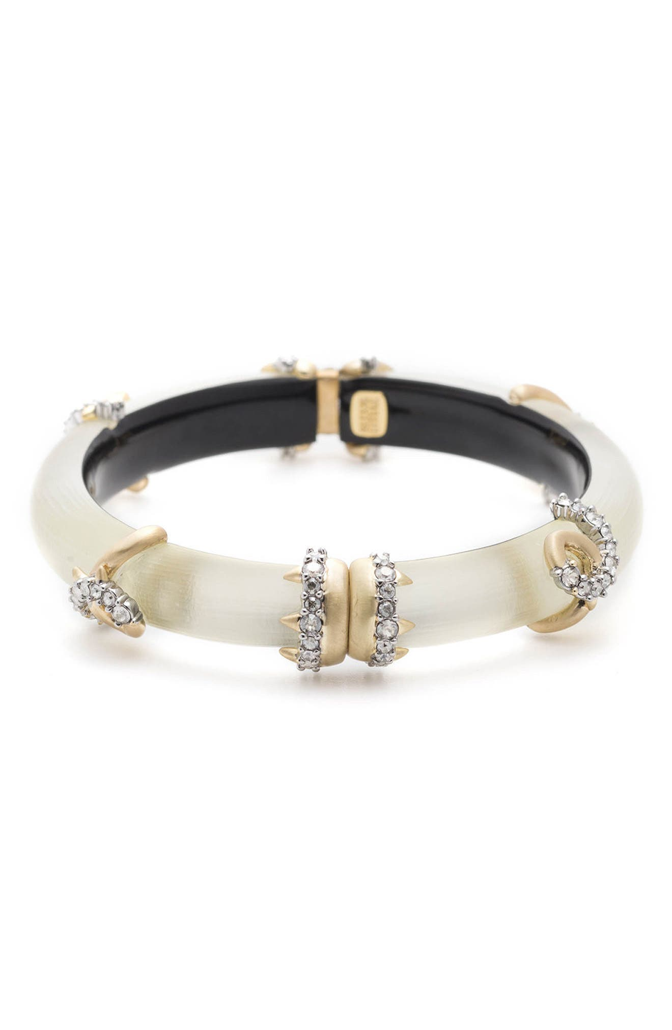 Crystal Encrusted Open Knot Bracelet,                         Main,                         color, 100