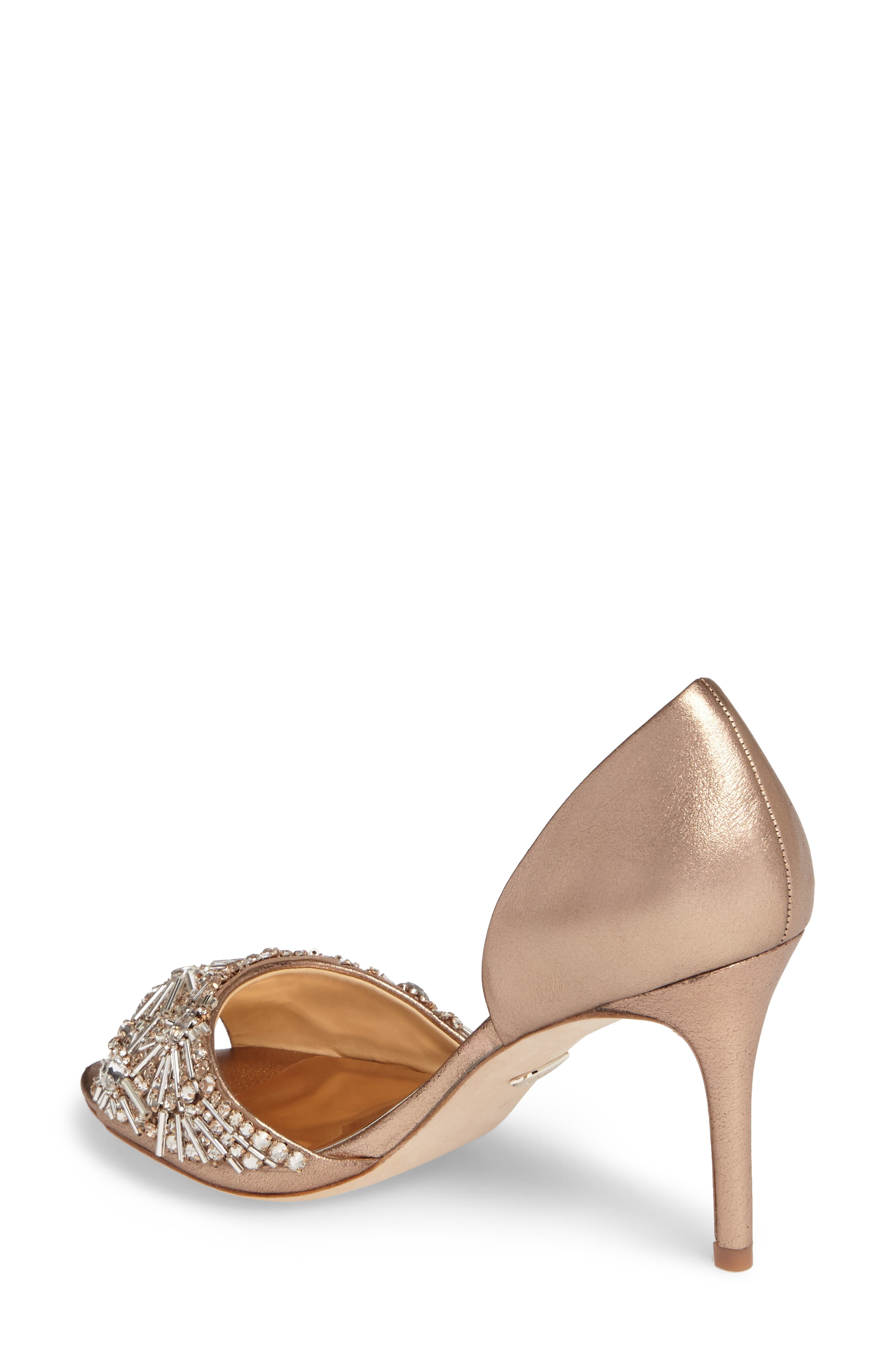 Maria Embellished d'Orsay Pump,                             Alternate thumbnail 11, color,