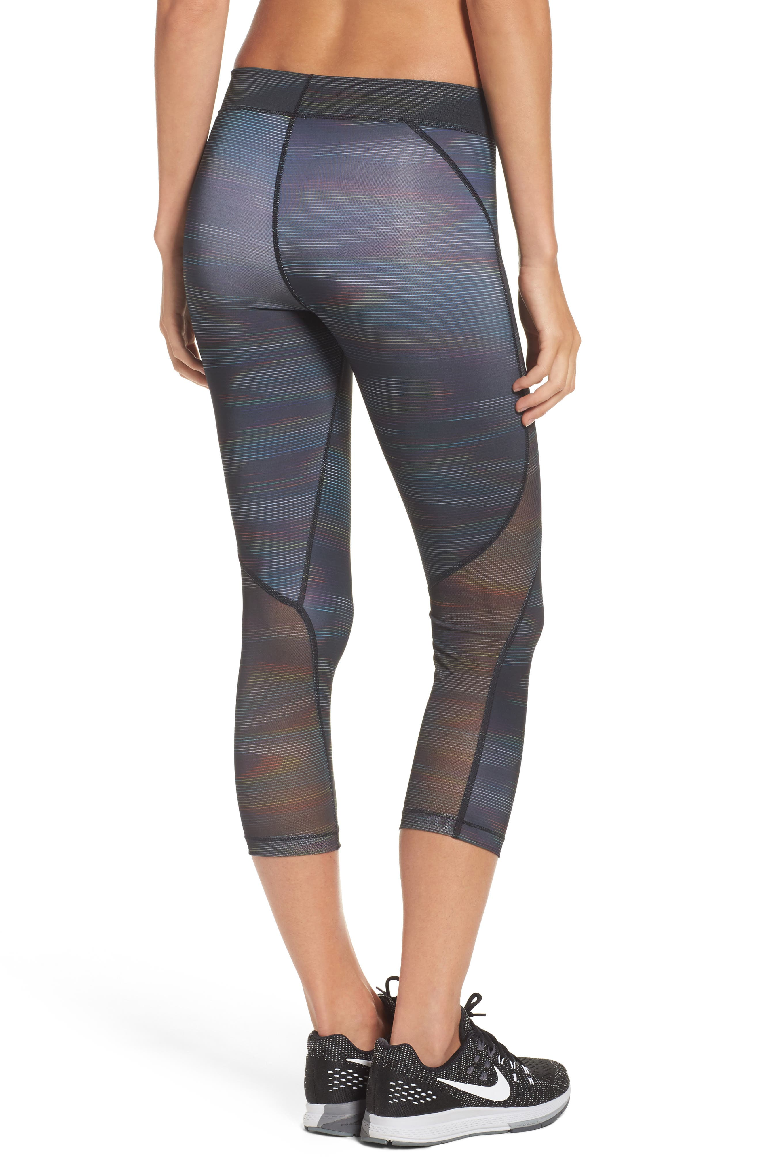 Pro HyperCool Capri Leggings,                             Alternate thumbnail 2, color,