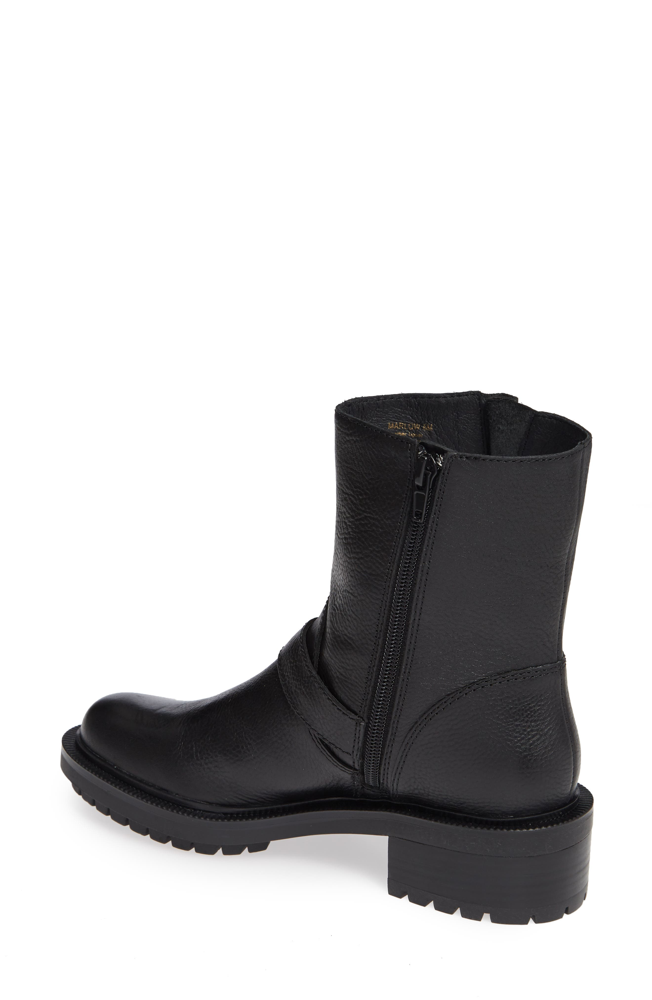 Marlow Boot,                             Alternate thumbnail 2, color,                             BLACK LEATHER