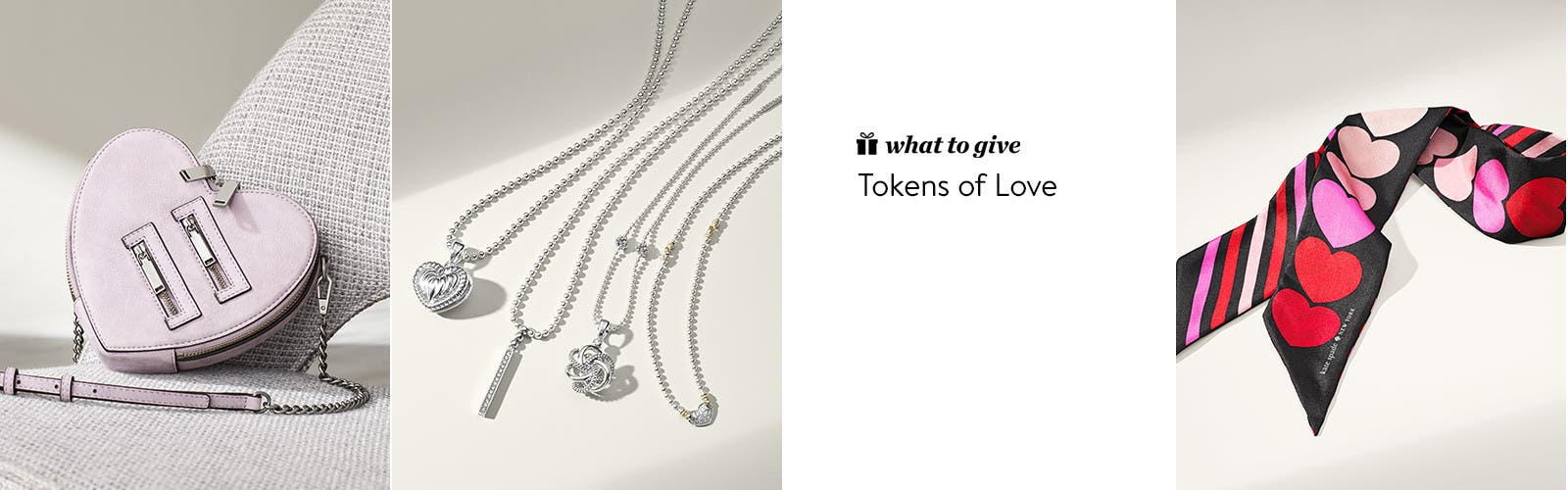 Tokens of love.