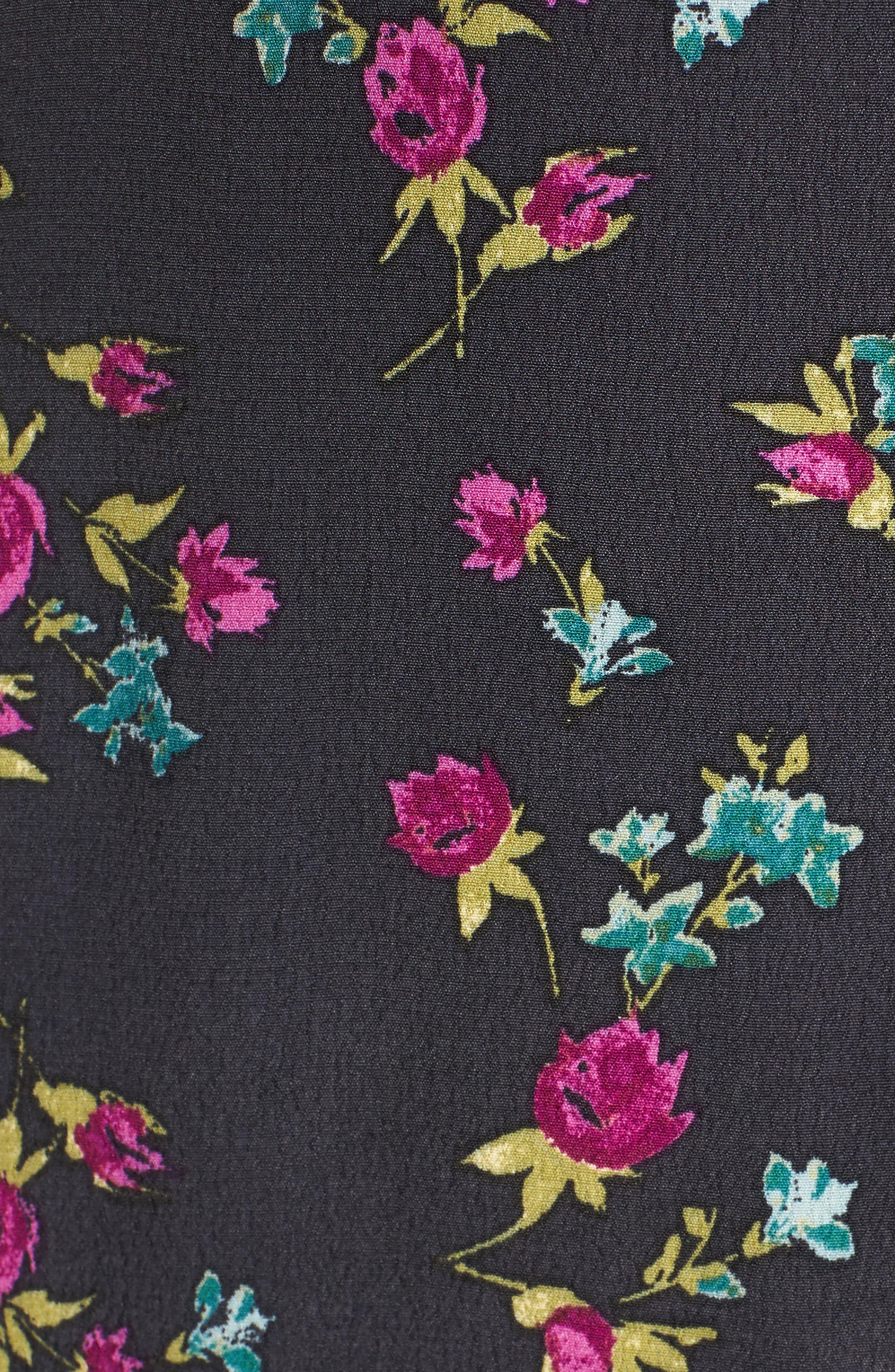 Flounce Wrap Midi Dress,                             Alternate thumbnail 20, color,