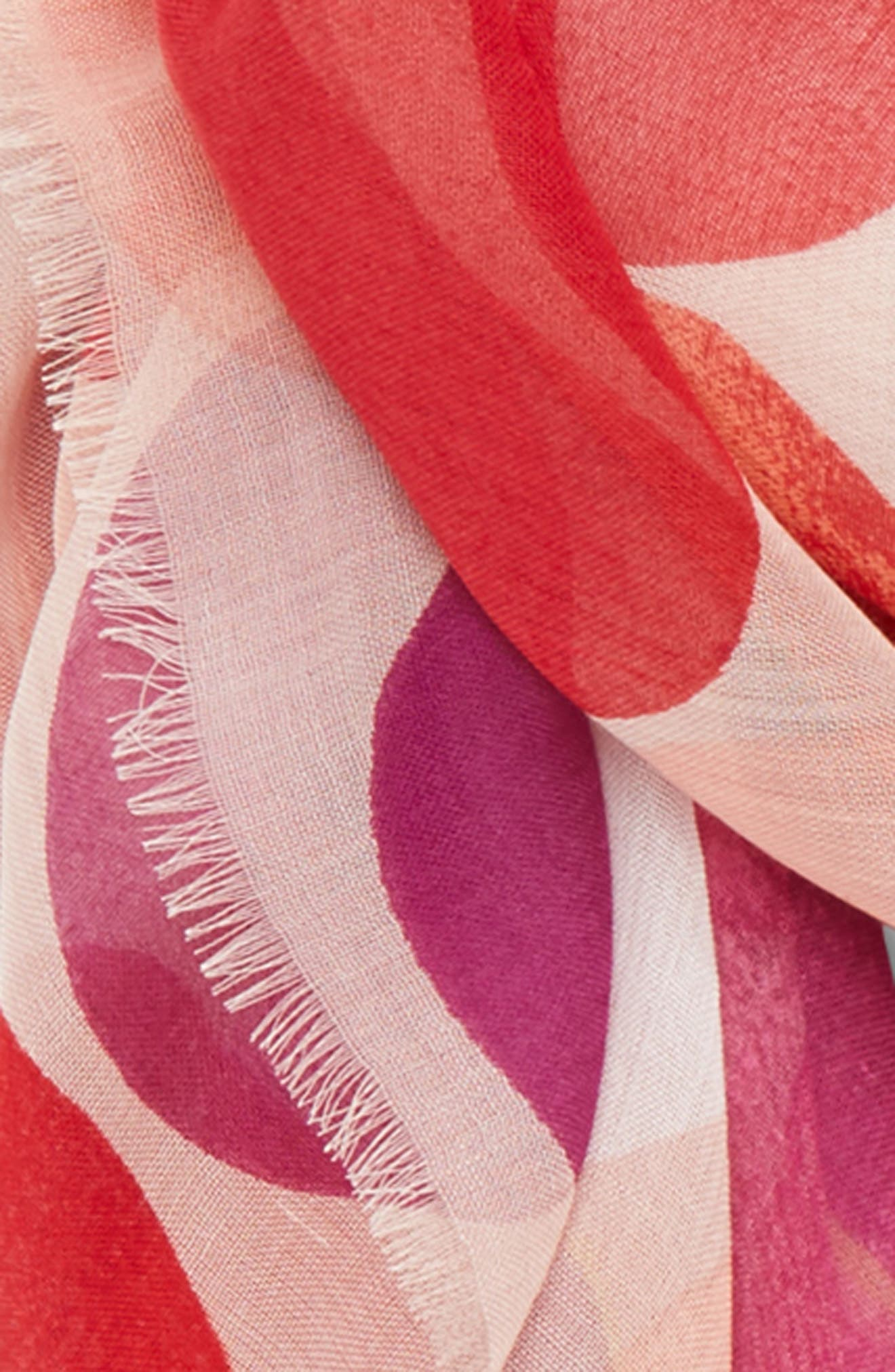 Dot Print Square Scarf,                             Alternate thumbnail 15, color,
