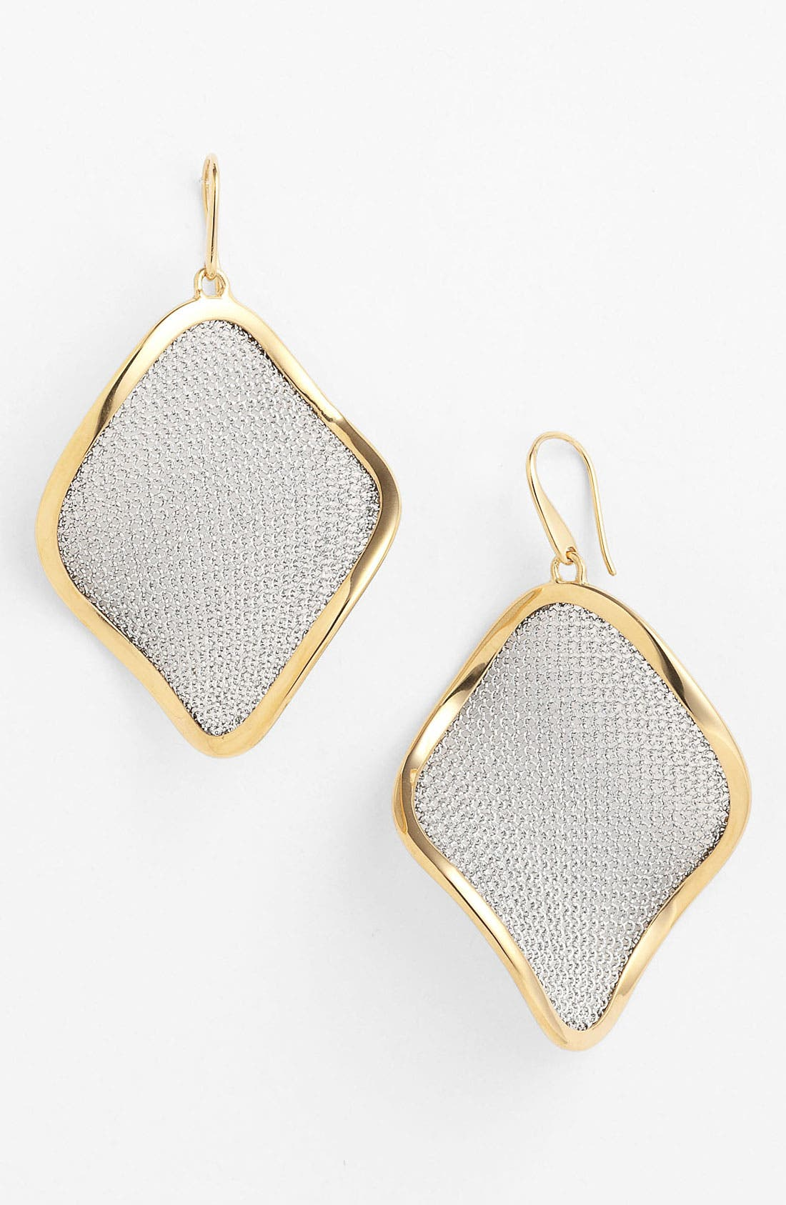 'Mesh' Large Drop Earrings,                             Main thumbnail 2, color,