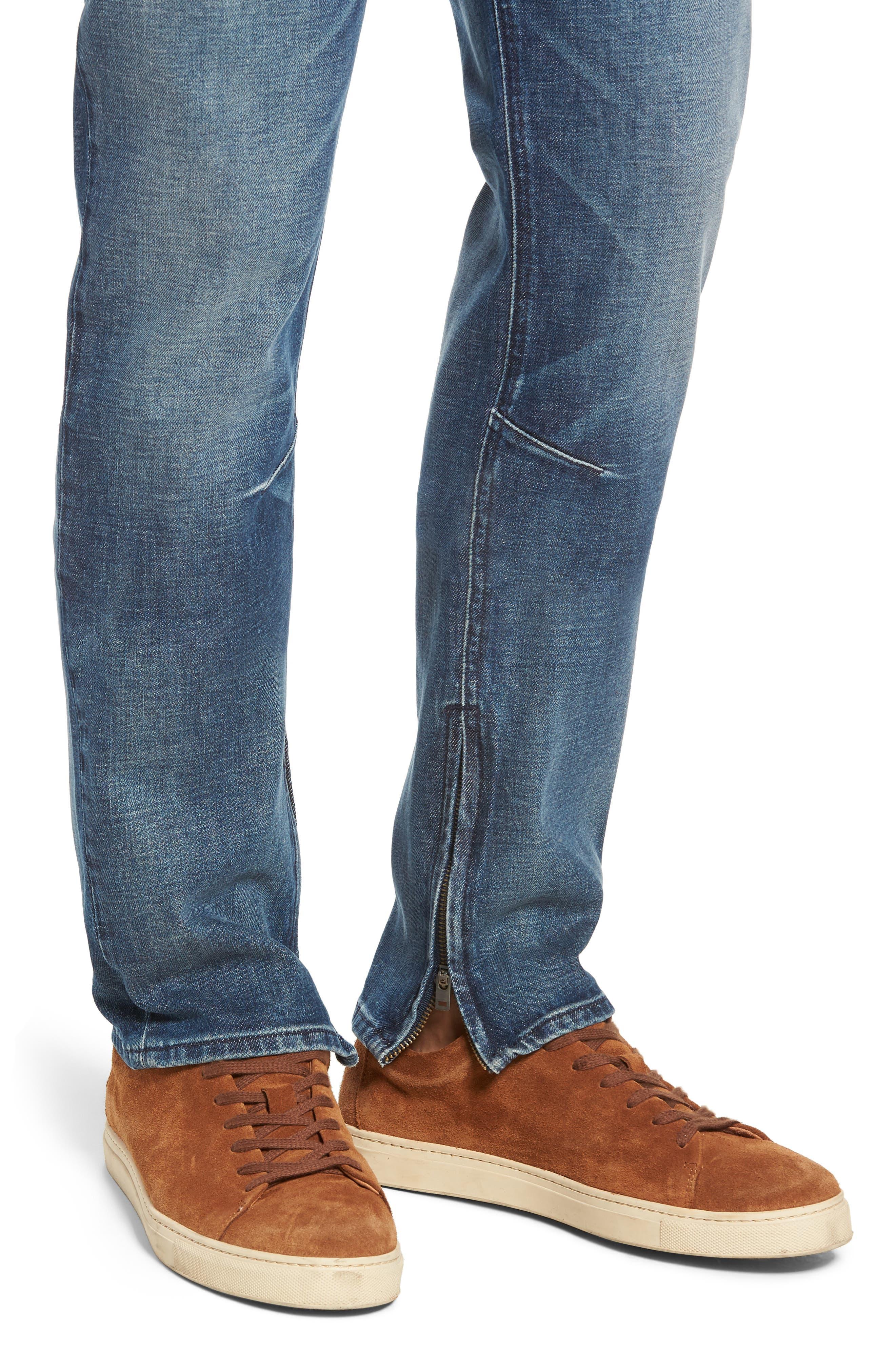 HUDSON JEANS,                             Vaughn Biker Skinny Fit Jeans,                             Alternate thumbnail 4, color,                             422