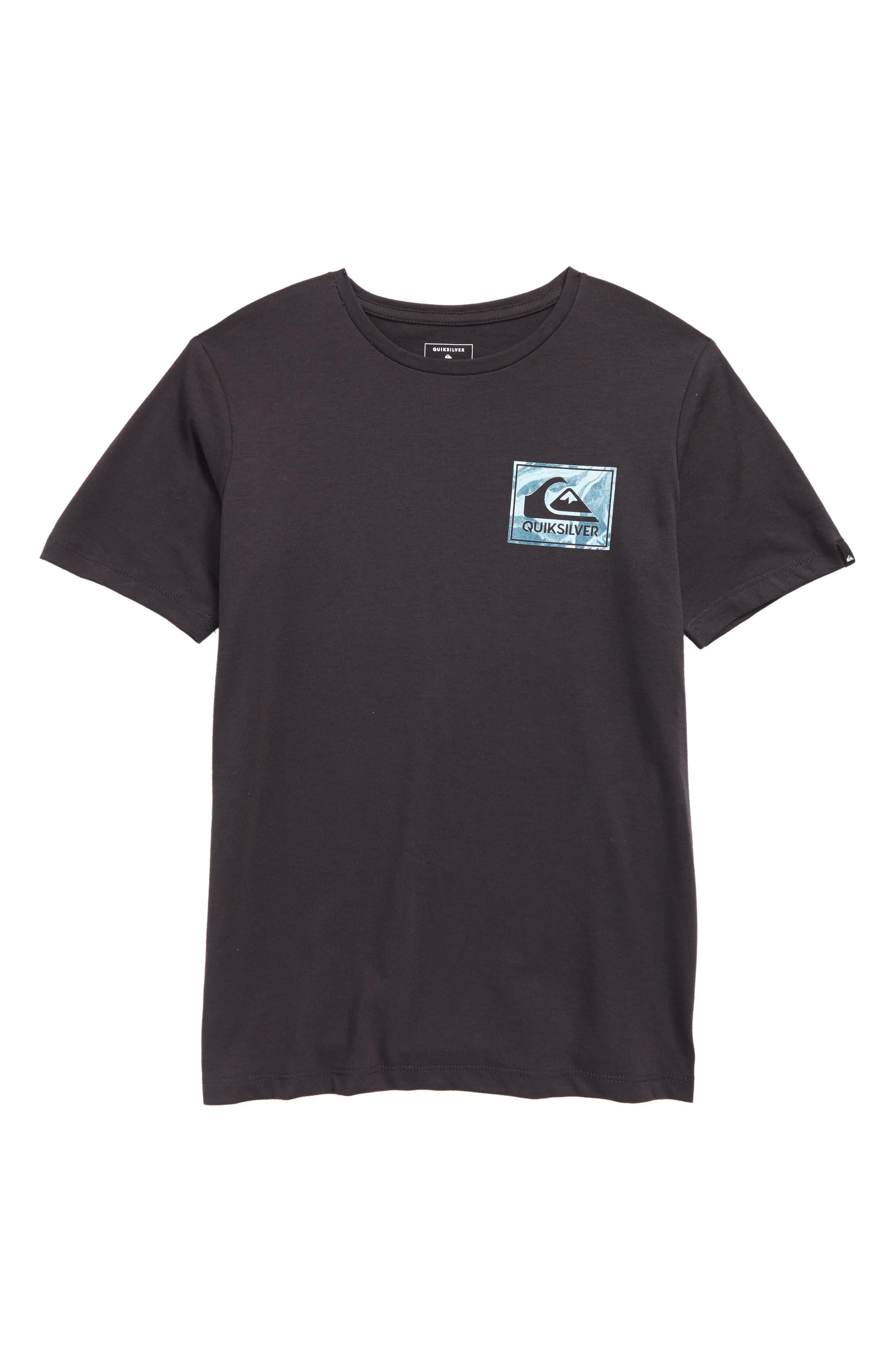 QUIKSILVER,                             Volcano Blues T-Shirt,                             Main thumbnail 1, color,                             005