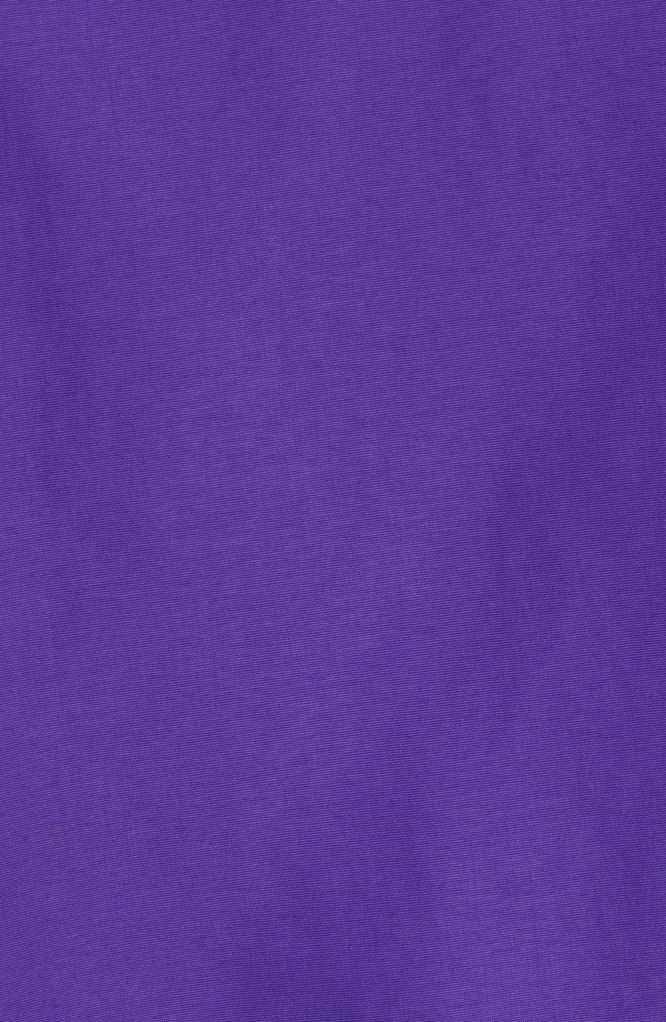 Los Angeles Lakers Courtside Warm-Up Jacket,                             Alternate thumbnail 6, color,                             FIELD PURPLE/PURPLE/ AMARILLO