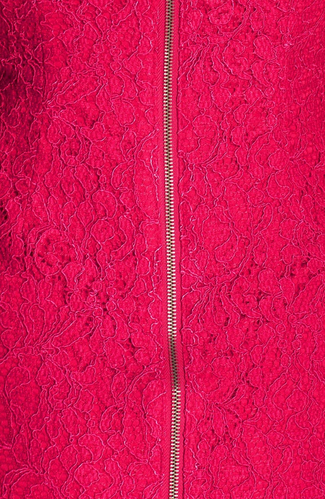 Boatneck Lace Sheath Dress,                             Alternate thumbnail 88, color,