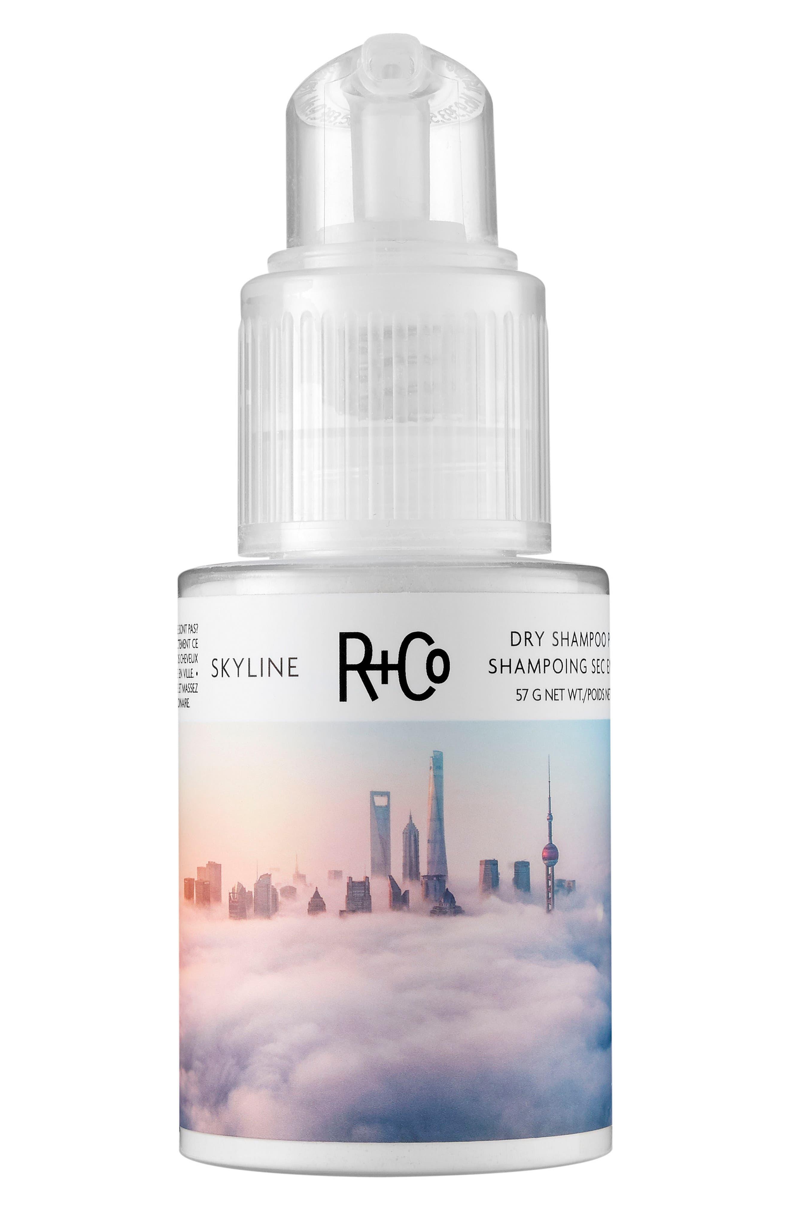 SPACE.NK.apothecary R+Co Skyline Dry Shampoo Powder,                             Main thumbnail 1, color,                             000
