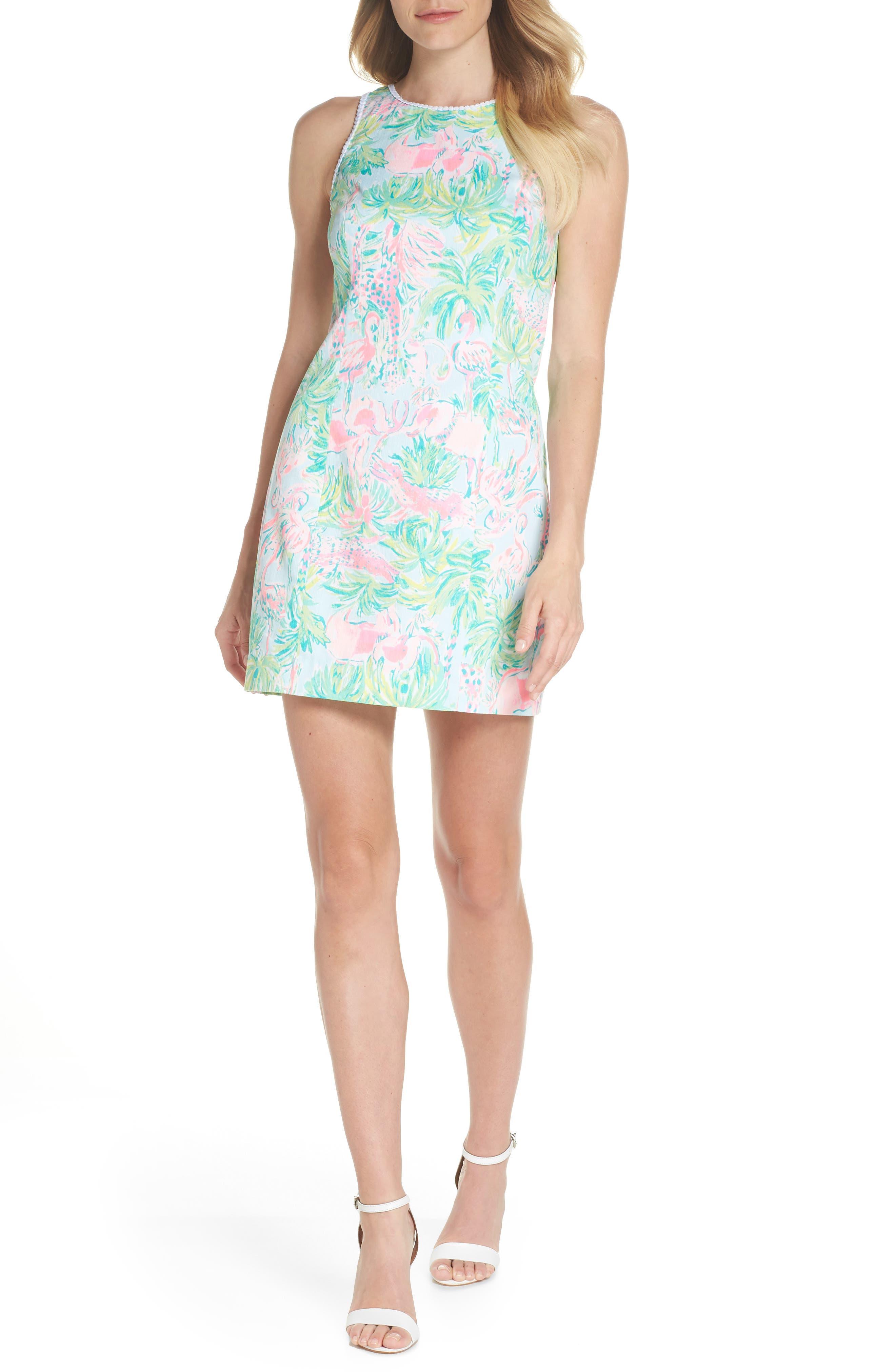 Mila Cotton Minidress,                             Alternate thumbnail 5, color,                             400