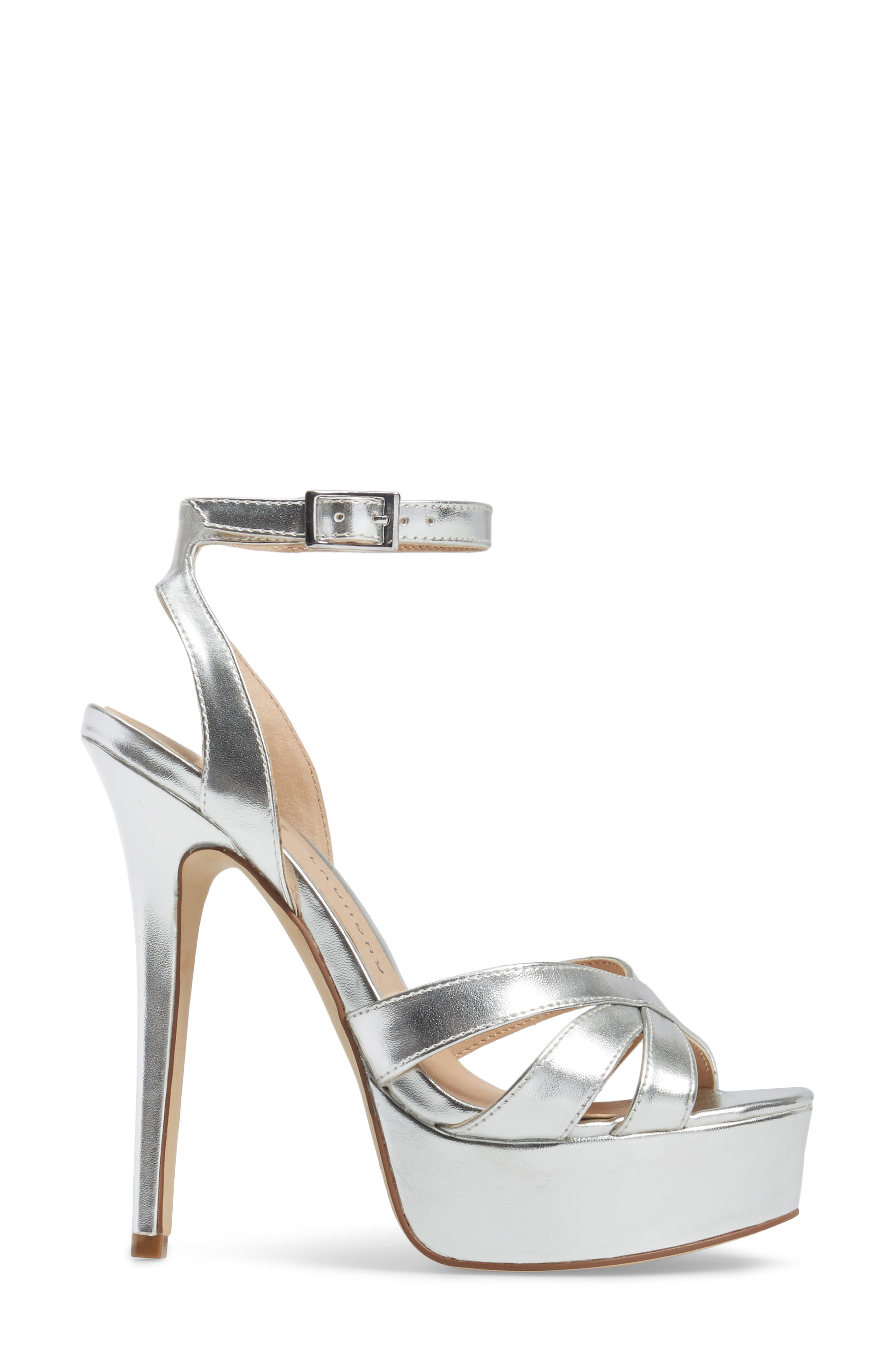 Alyssa Strappy Platform Sandal,                             Alternate thumbnail 3, color,                             040