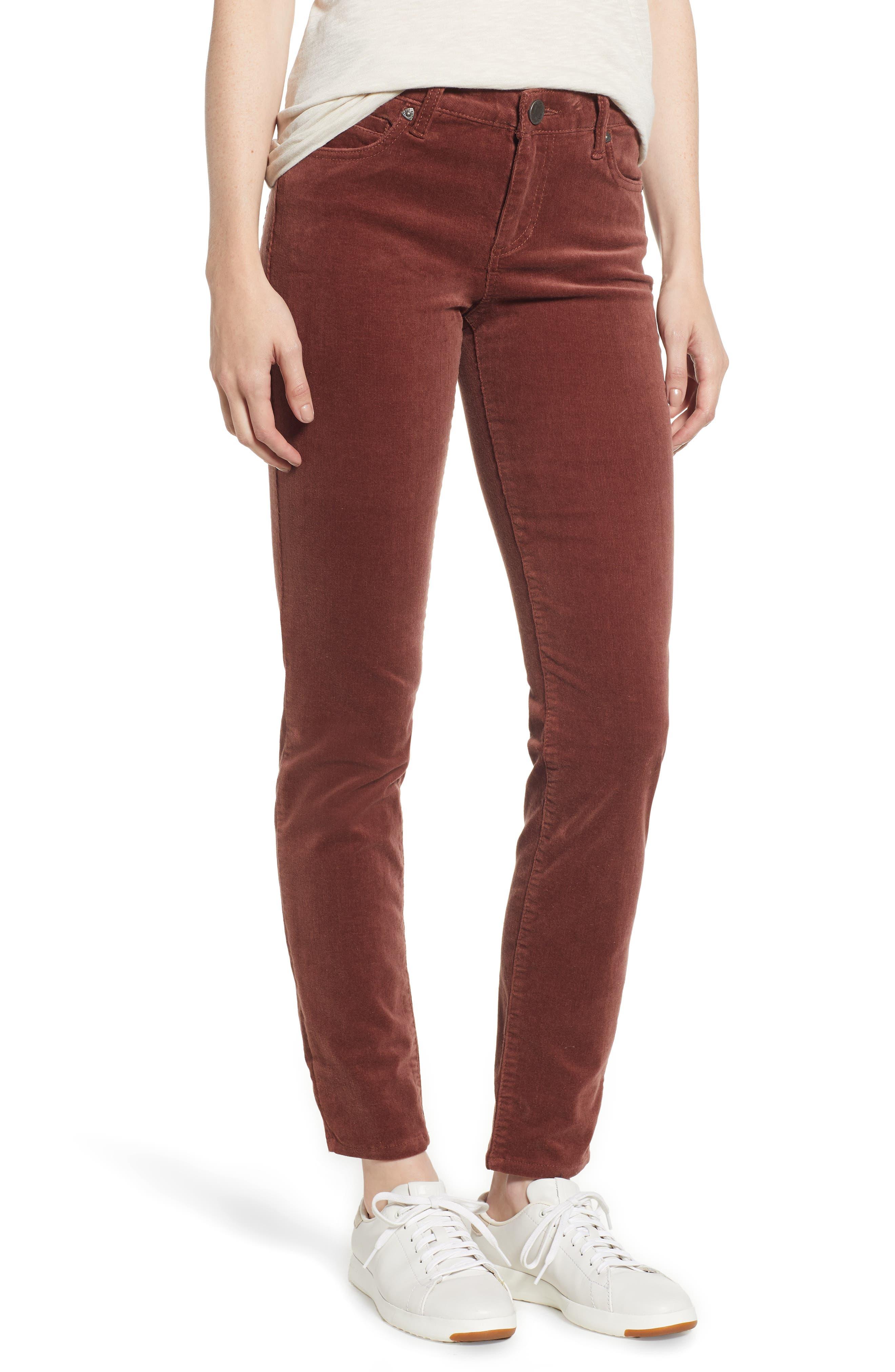 'Diana' Stretch Corduroy Skinny Pants,                             Main thumbnail 14, color,