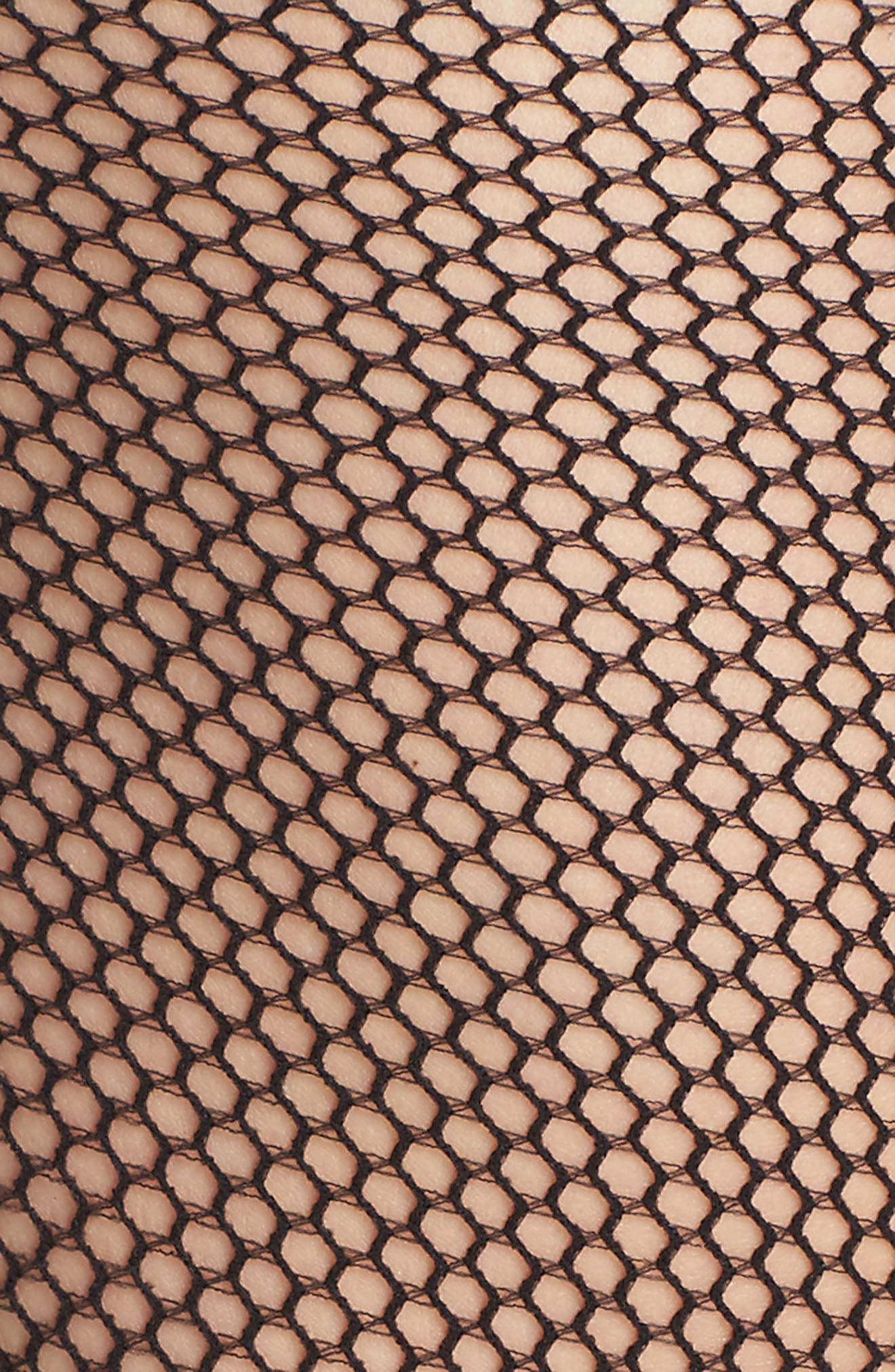Fishnet Stay-Up Stockings,                             Alternate thumbnail 3, color,
