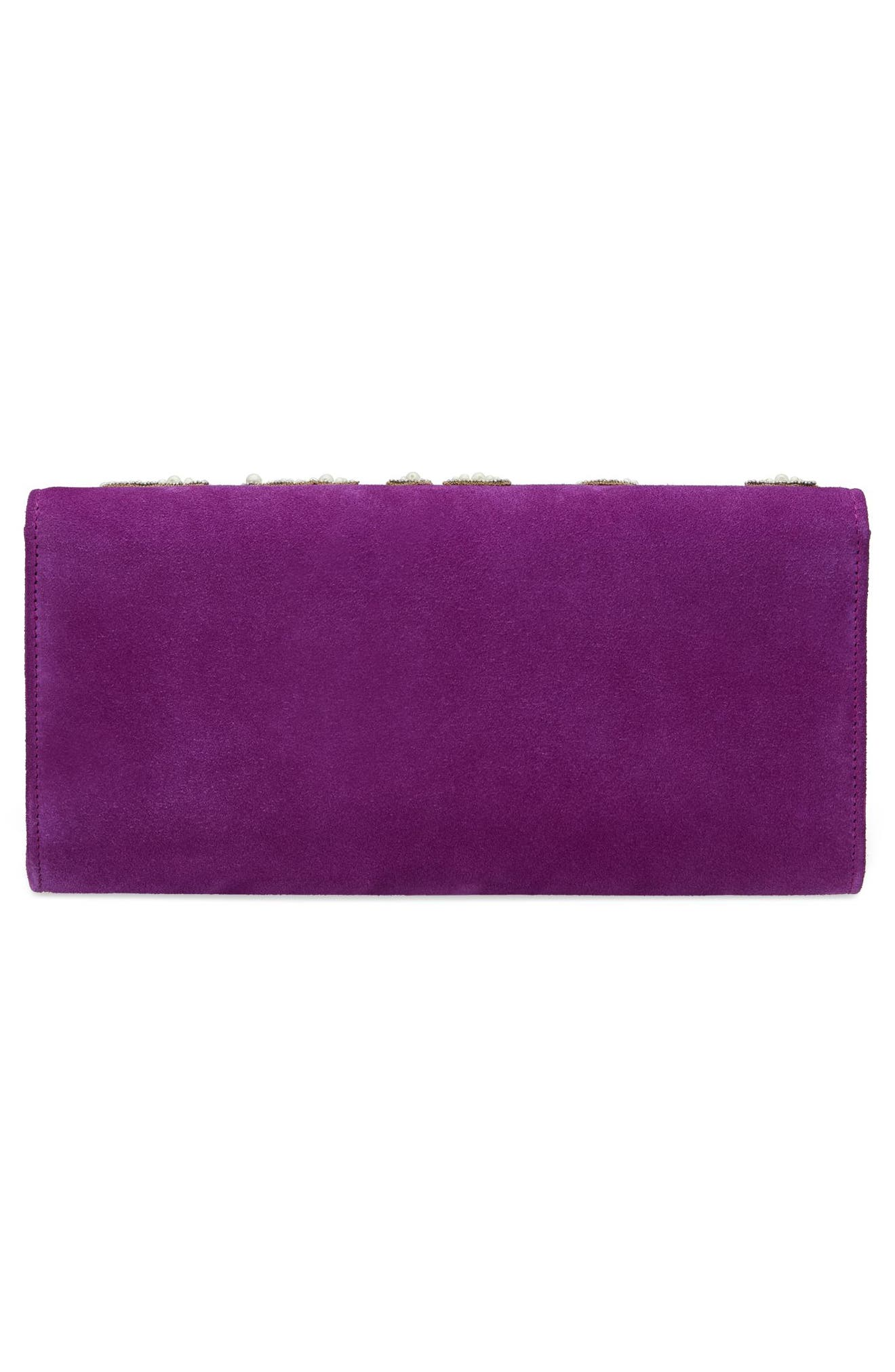 Dionysus Suede Clutch,                             Alternate thumbnail 2, color,                             559