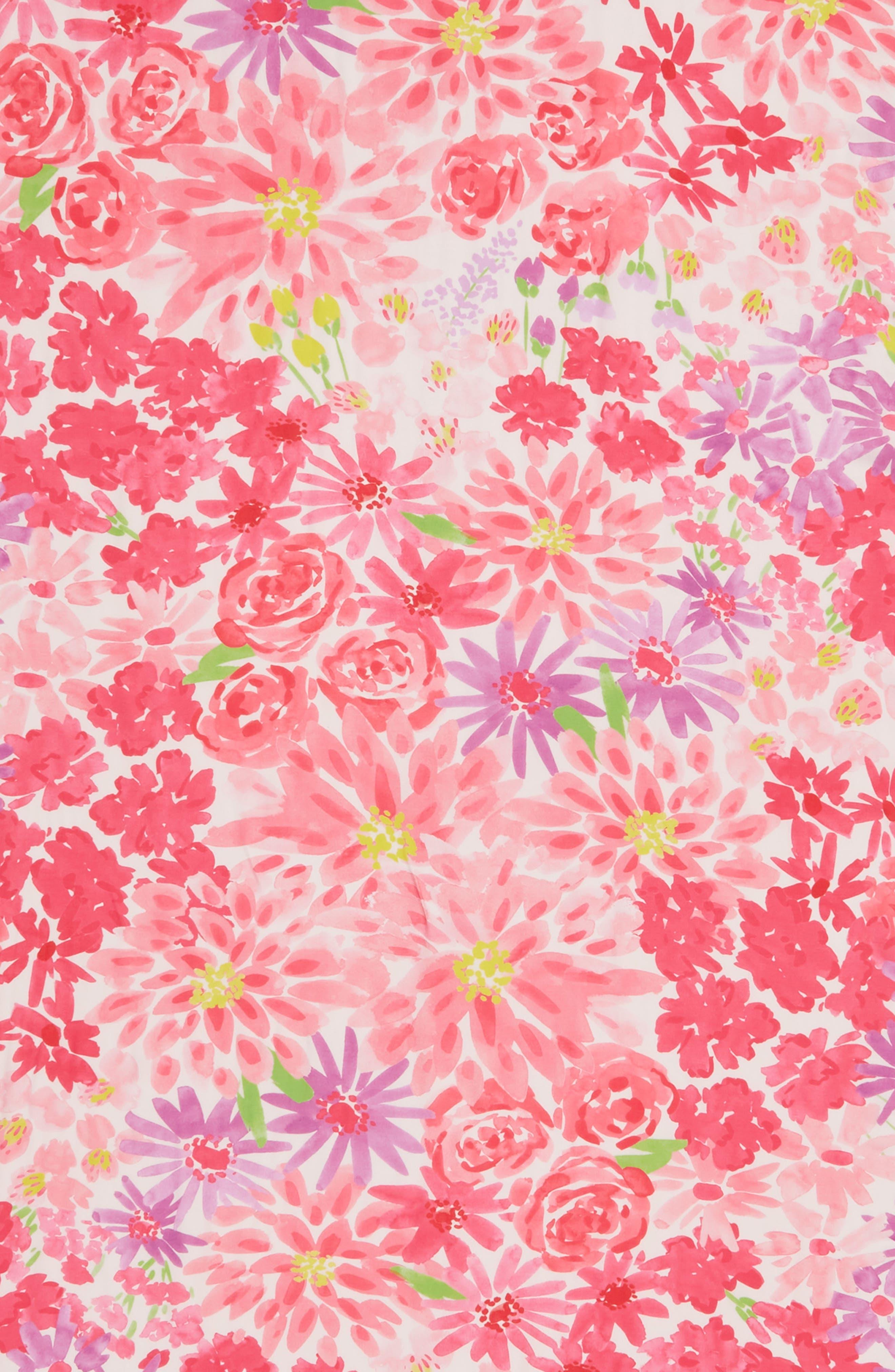 deli flowers scarf,                             Alternate thumbnail 4, color,                             CREAM