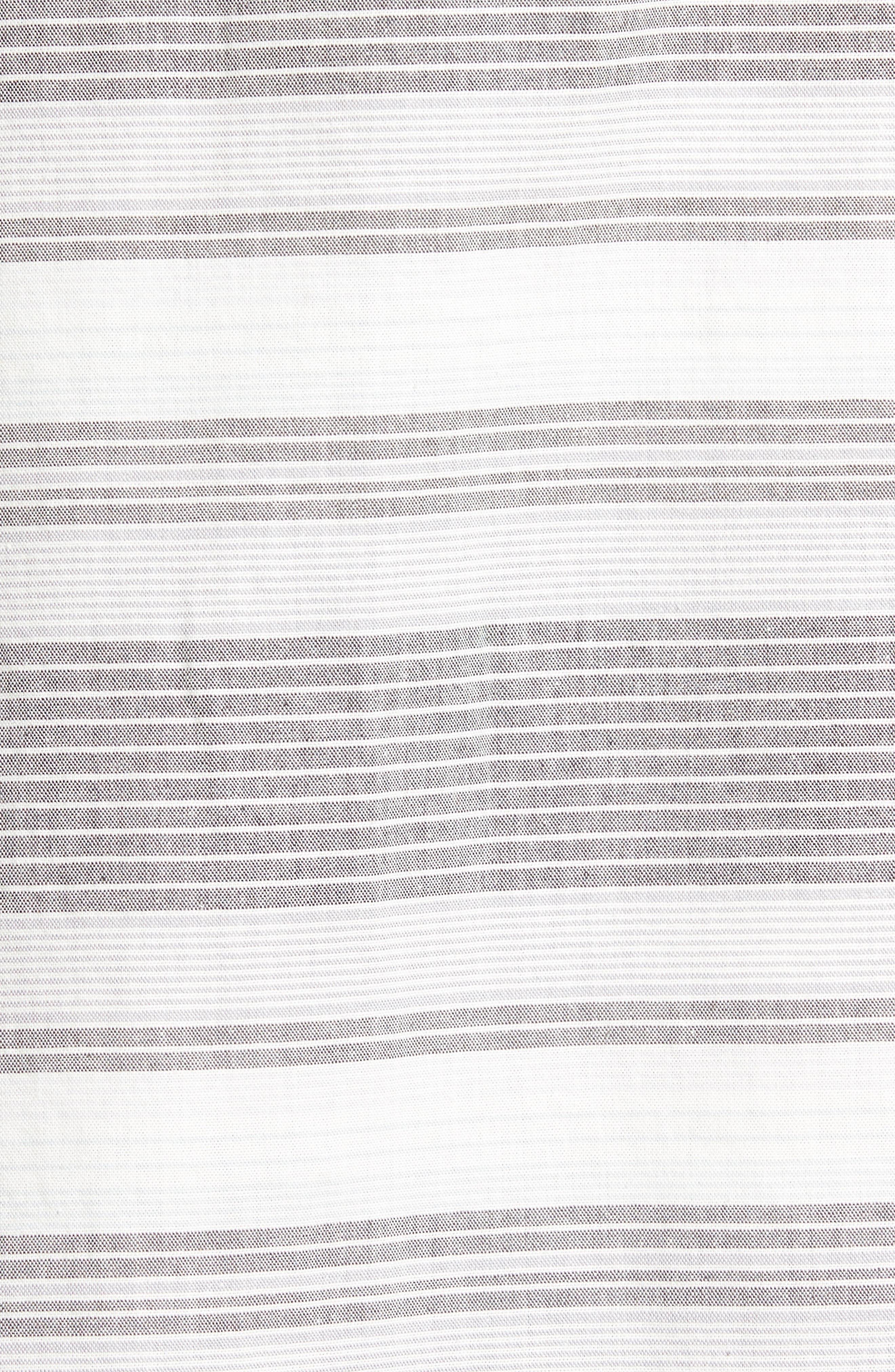 Clambake Stripe Standard Fit Sport Shirt,                             Alternate thumbnail 5, color,