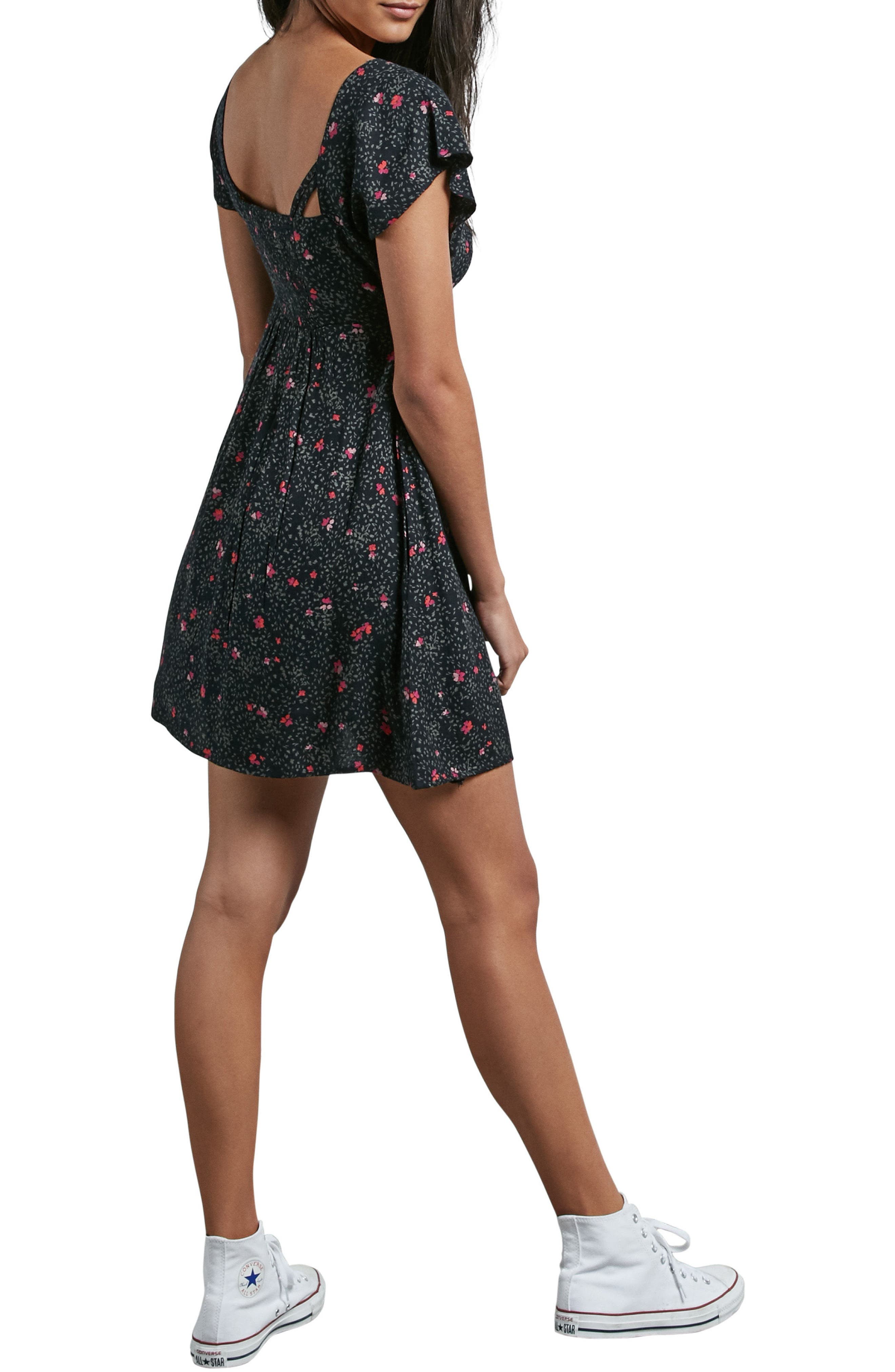 It's a Cinch Babydoll Dress,                             Alternate thumbnail 2, color,                             001