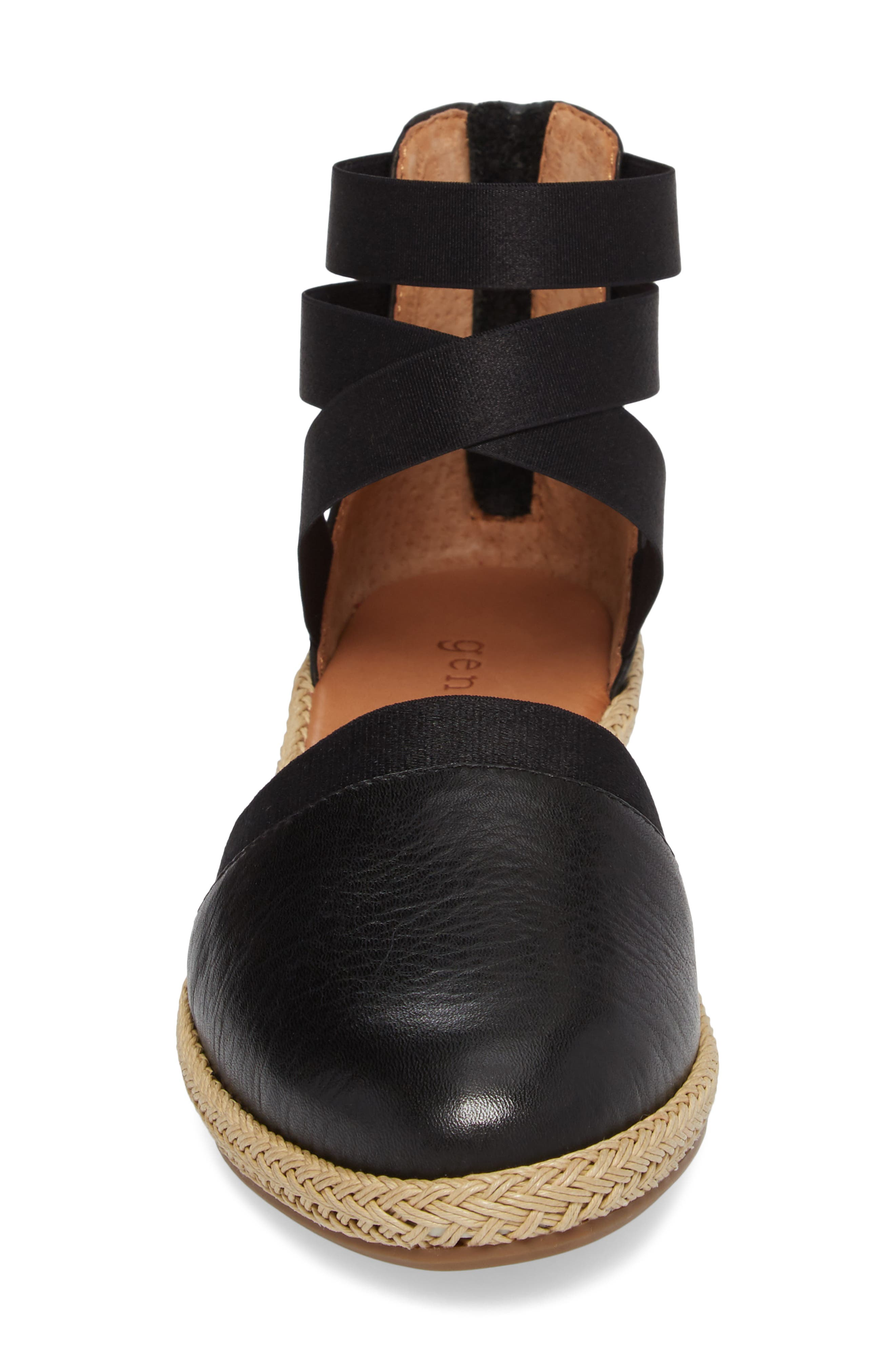 by Kenneth Cole Beth Espadrille Sandal,                             Alternate thumbnail 4, color,                             001