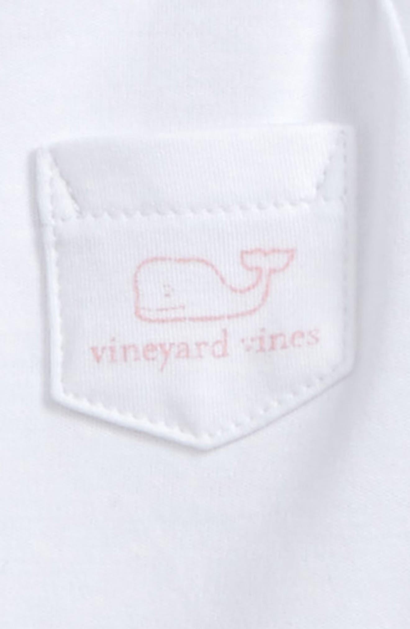Vintage Whale Pocket Bodysuit,                             Alternate thumbnail 3, color,                             100