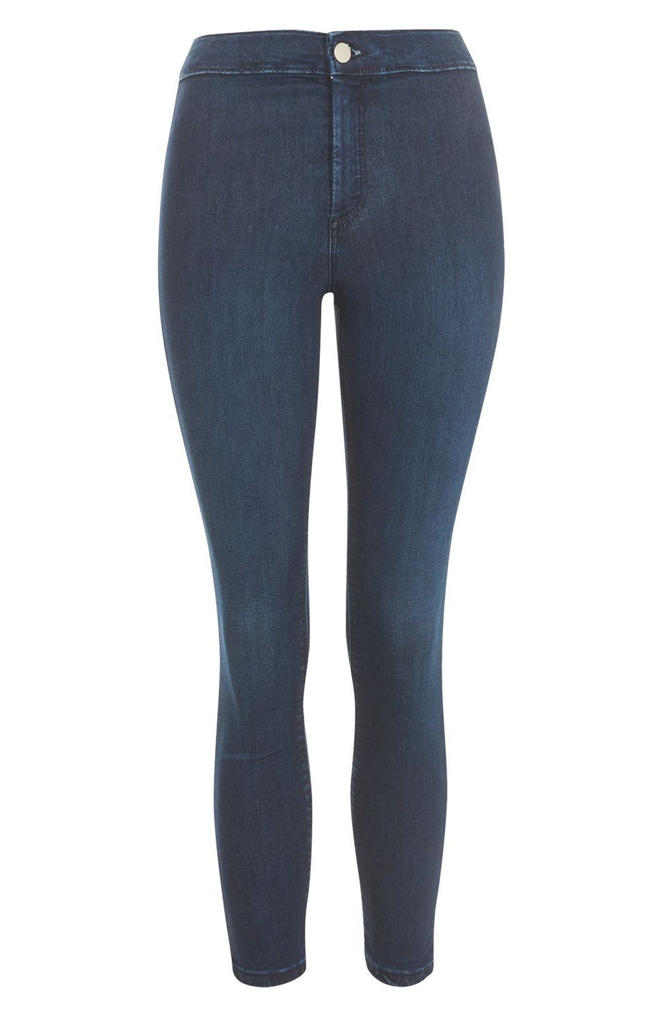 Joni High Waist Skinny Jeans,                             Alternate thumbnail 3, color,                             400