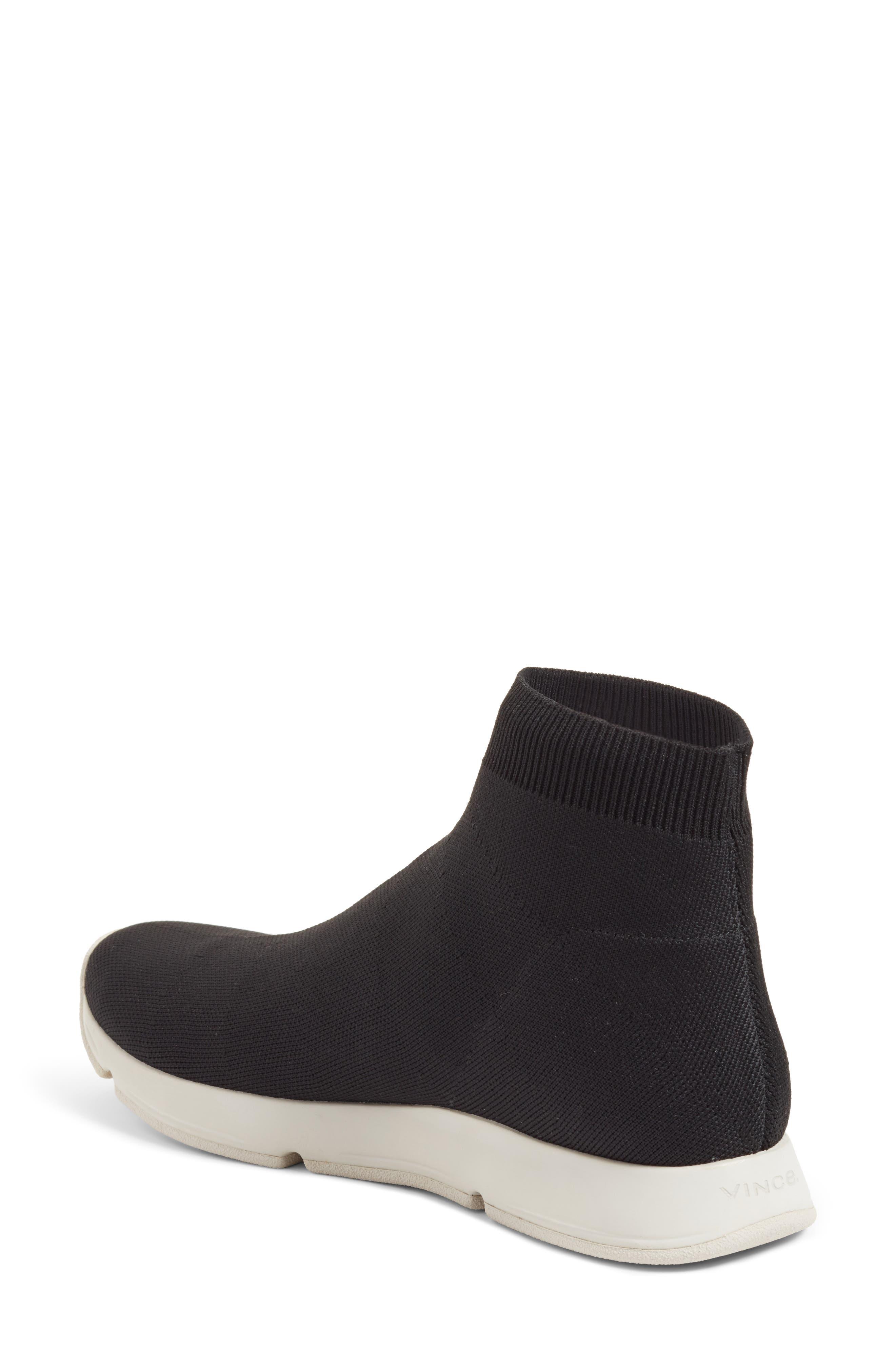 Tyra Sock Sneaker,                             Alternate thumbnail 2, color,                             001