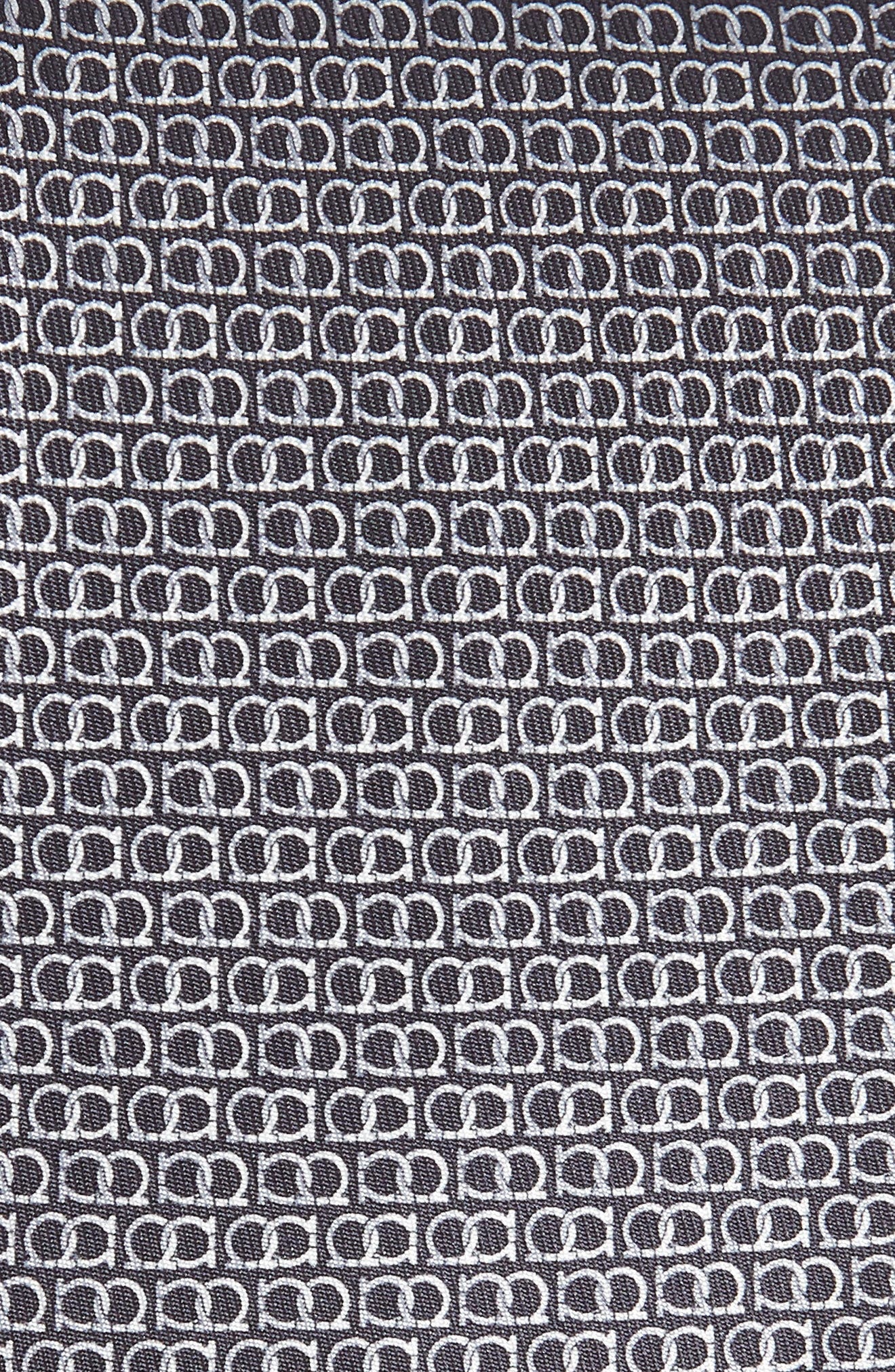 Ego Print Silk Tie,                             Alternate thumbnail 2, color,                             094
