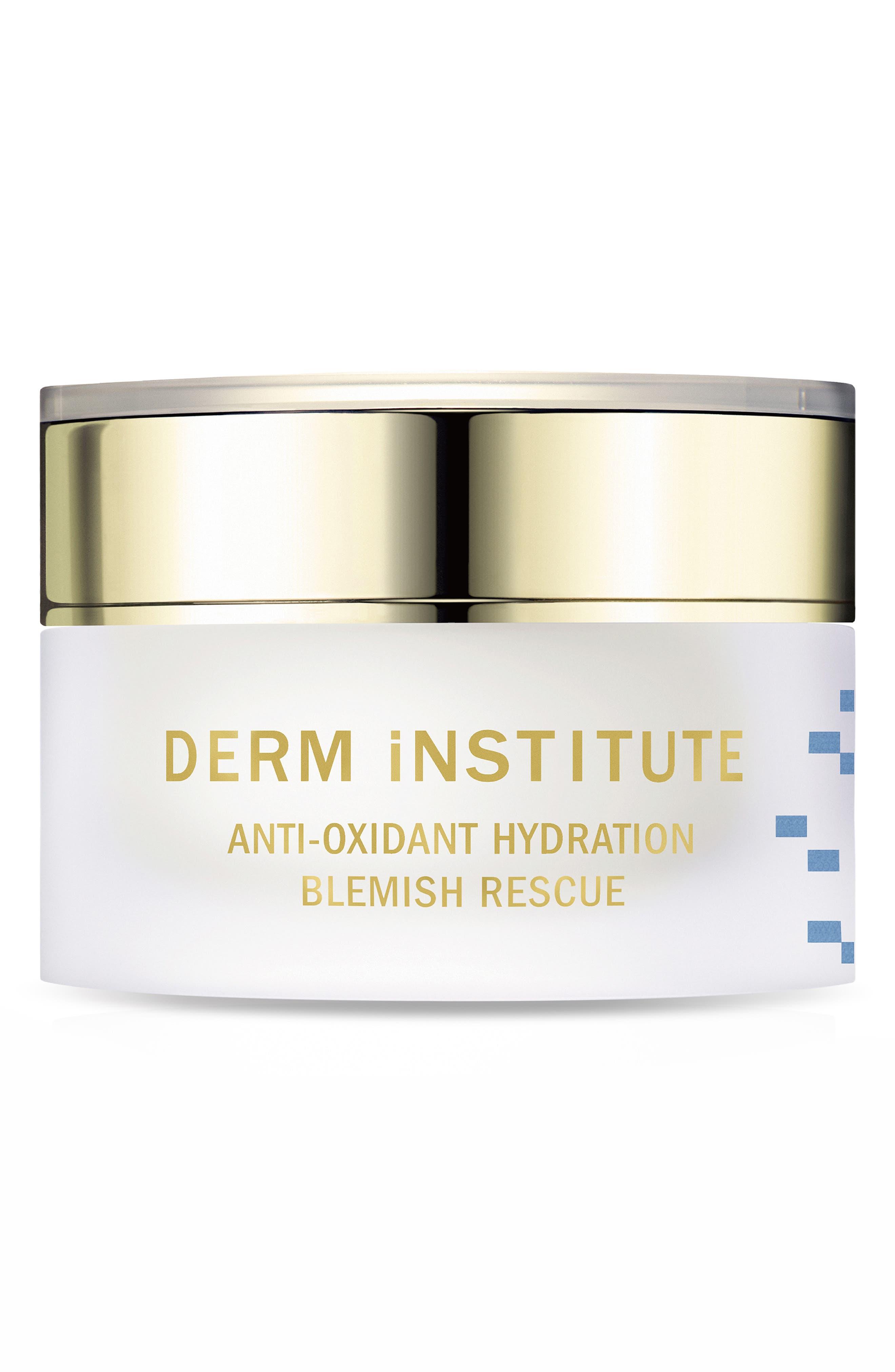 DERM INSTITUTE,                             SPACE.NK.apothecary Derm Institute Antioxidant Hydration Blemish Rescue,                             Main thumbnail 1, color,                             000